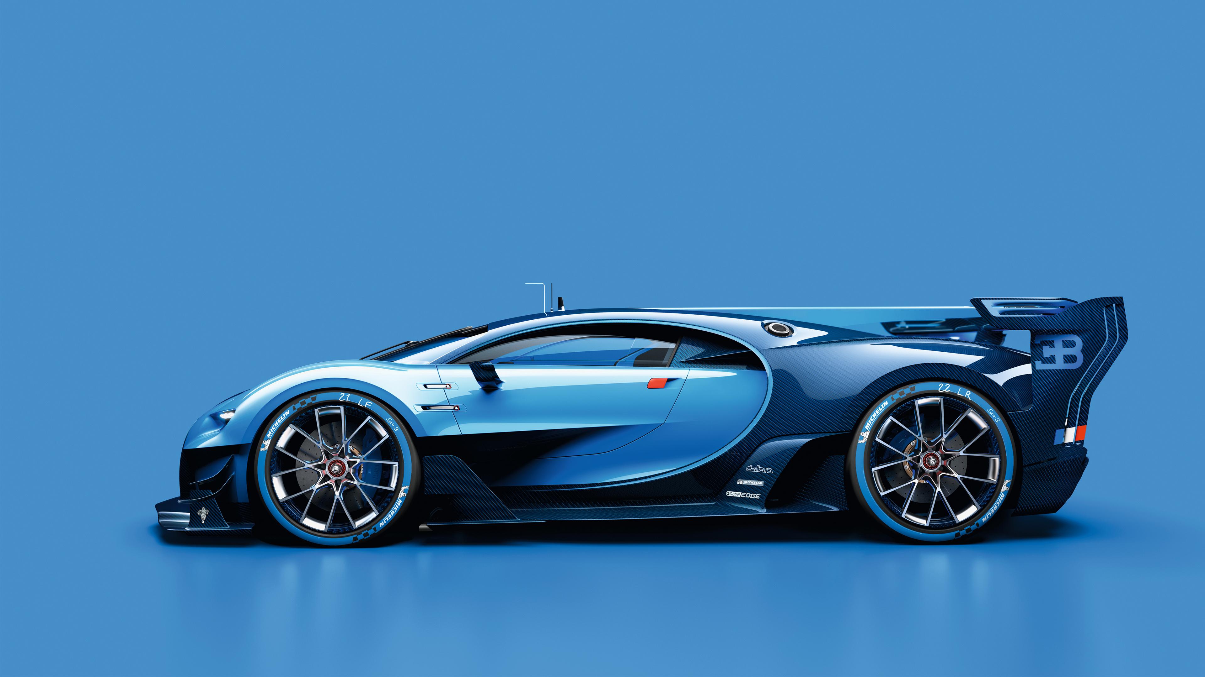 2015 Bugatti Vision Gran Turismo 7 Wallpaper Hd Car