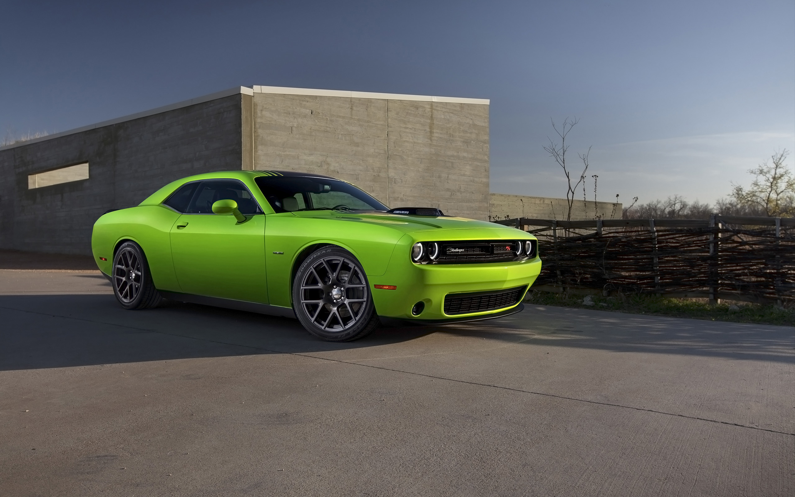 2015 Dodge Challenger Green