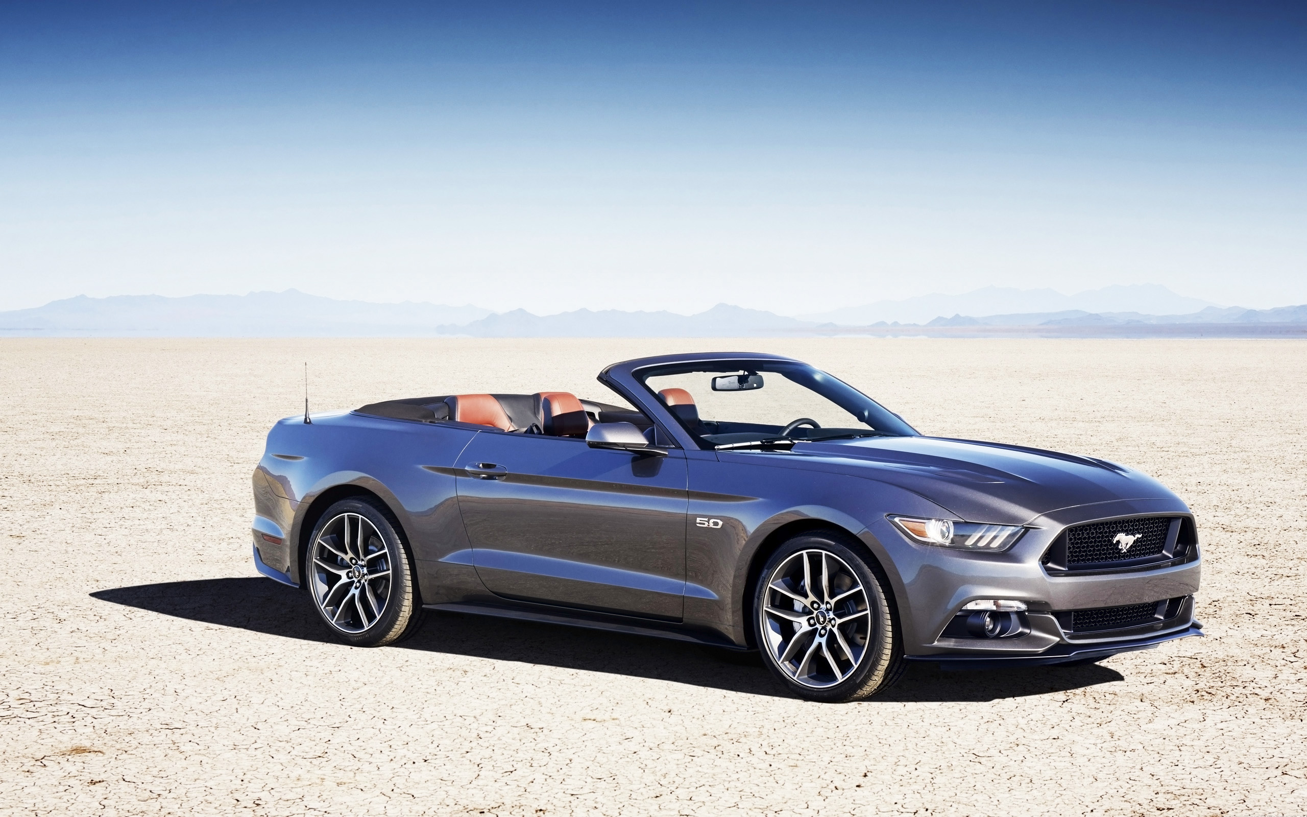2015 Ford Mustang Convertible Wallpaper