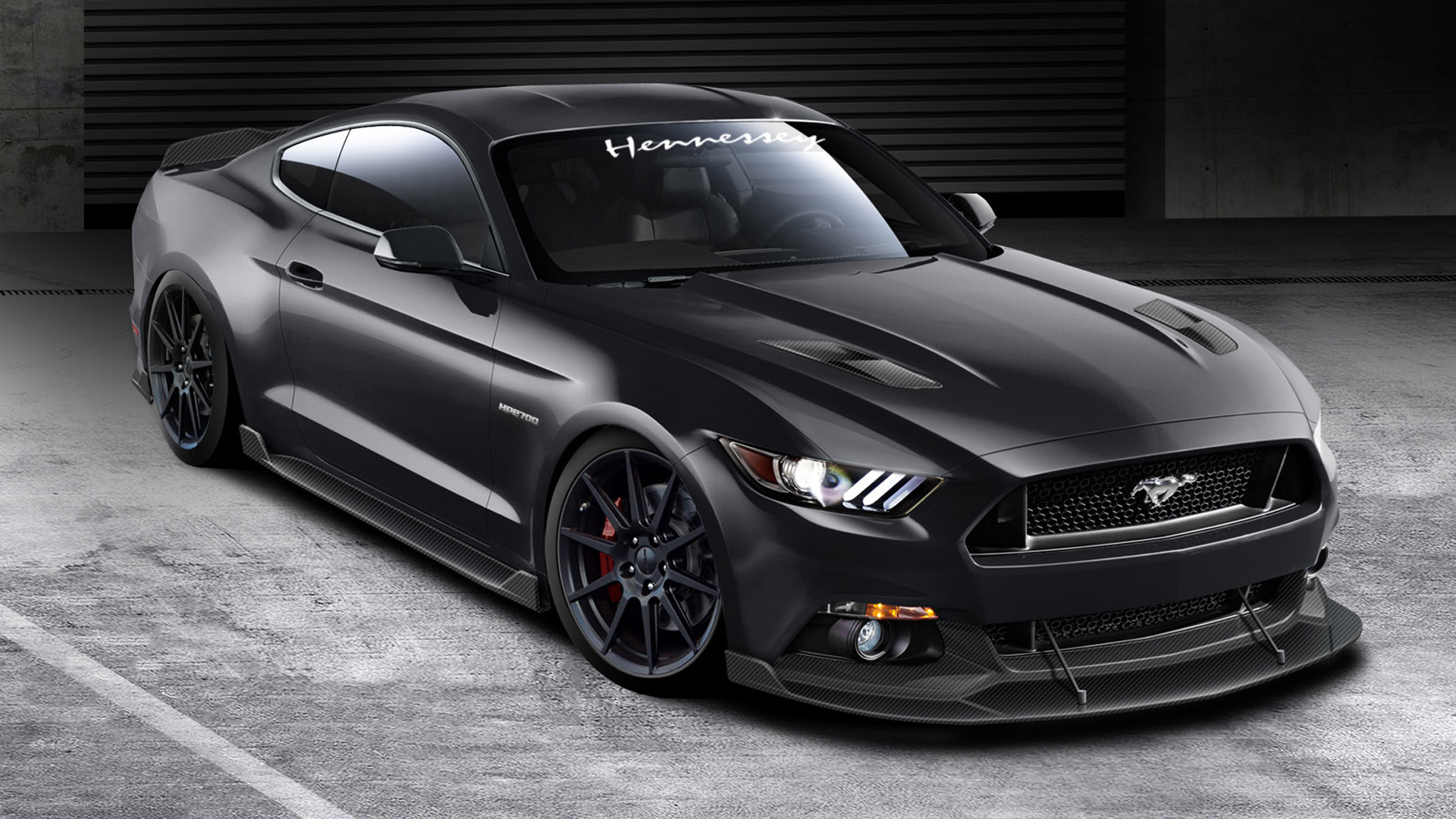 2015 hennessey ford mustang gt wallpaper