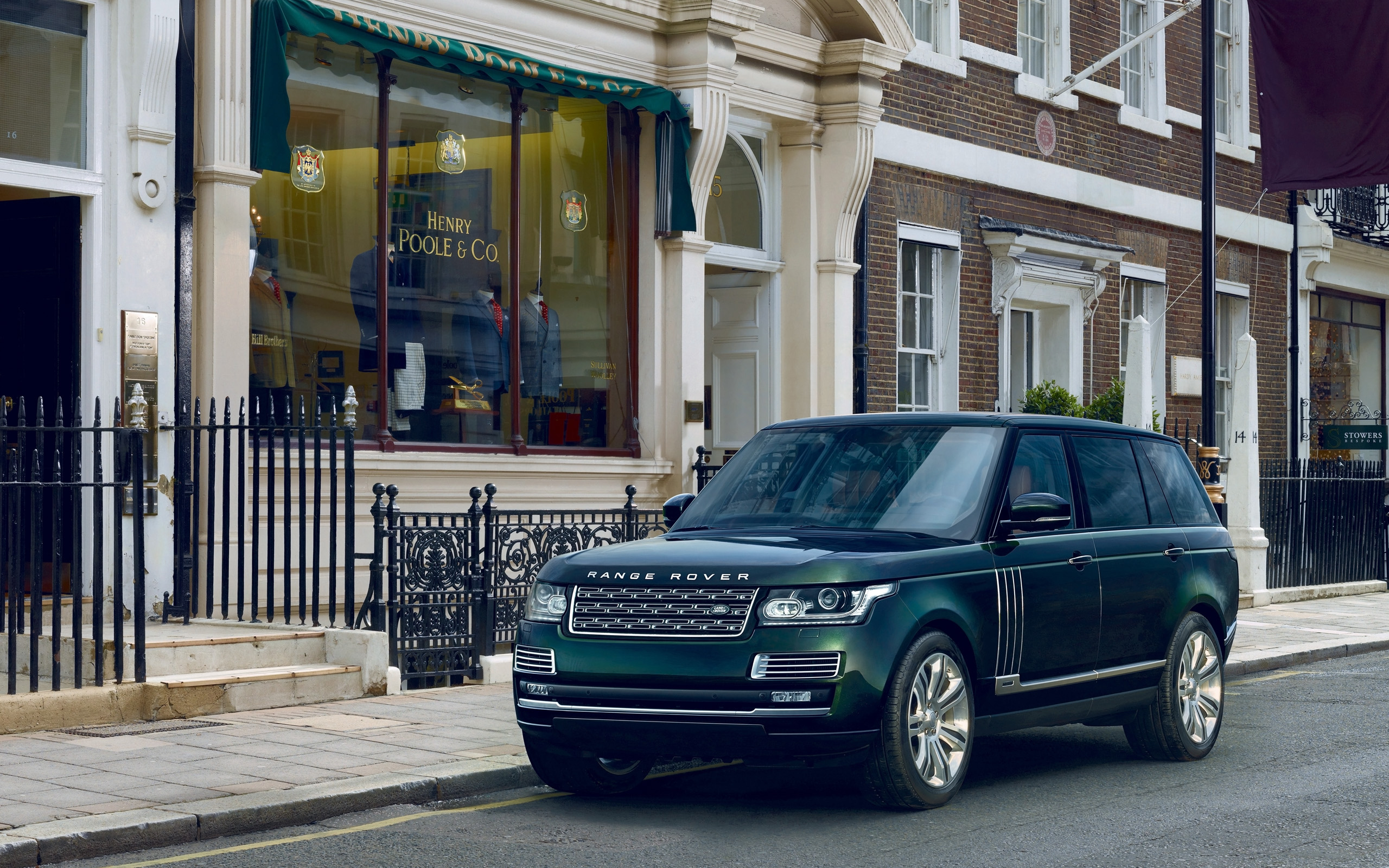 2015 Holland And Holland Range Rover Wallpaper Hd Car