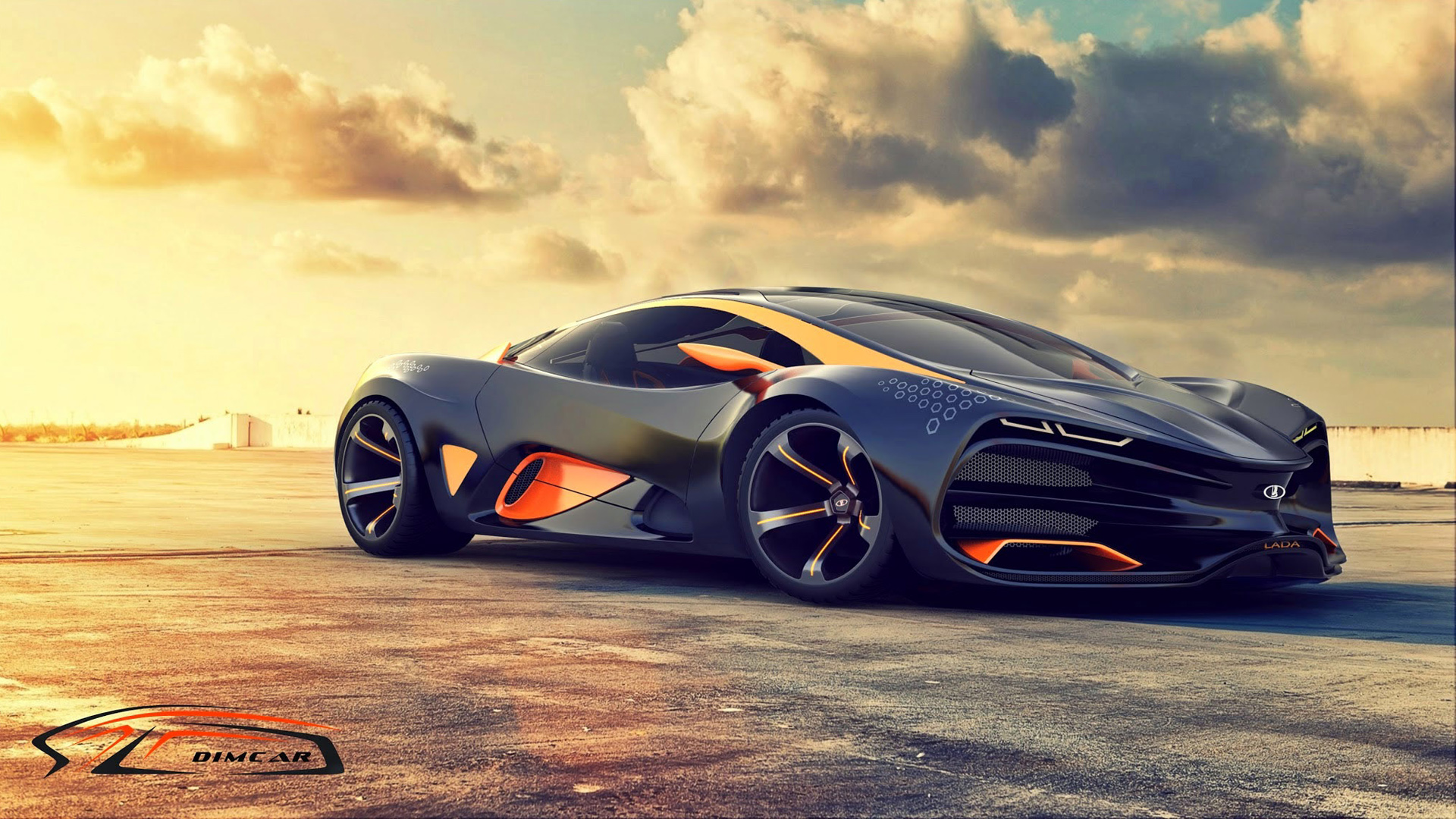 2015 lada raven supercar concept 2 wallpaper hd car wallpapers id 5166. Black Bedroom Furniture Sets. Home Design Ideas