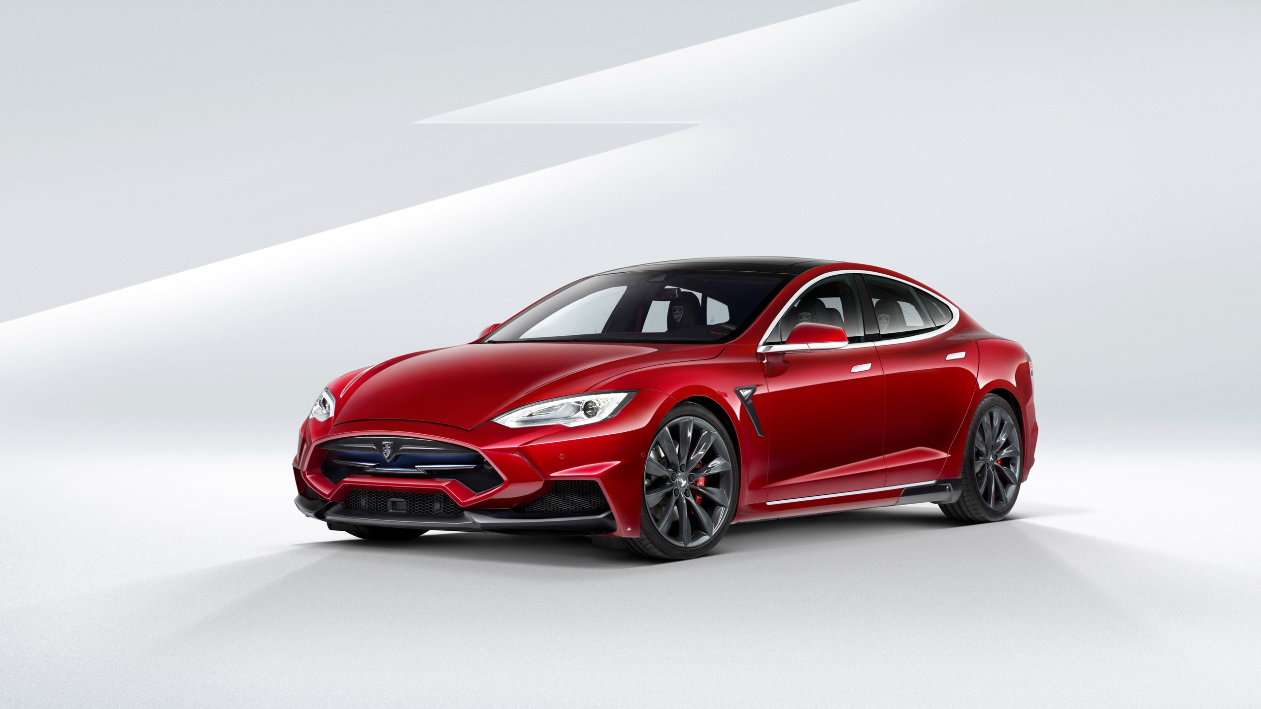 2015 larte tesla model s wallpaper hd car wallpapers id 5297. Black Bedroom Furniture Sets. Home Design Ideas