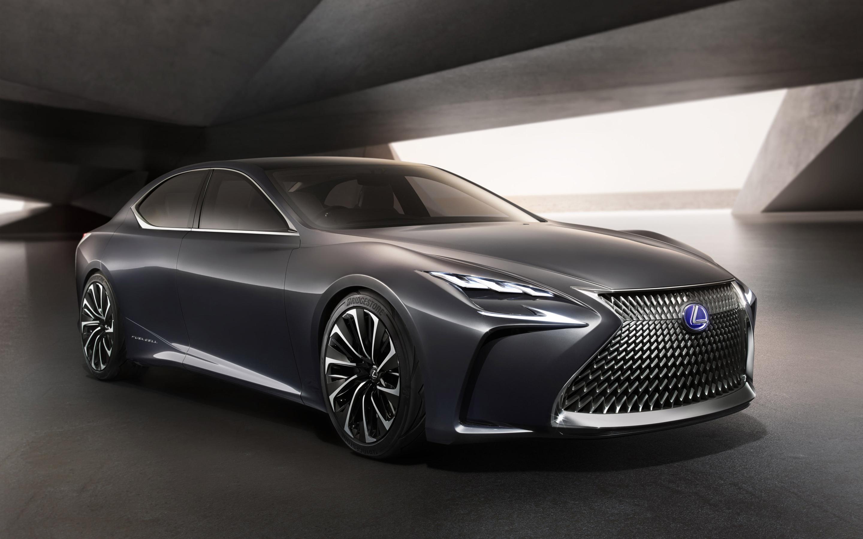 2015 Lexus Lf Fc Concept 2 Wallpaper Hd Car Wallpapers Id 5905