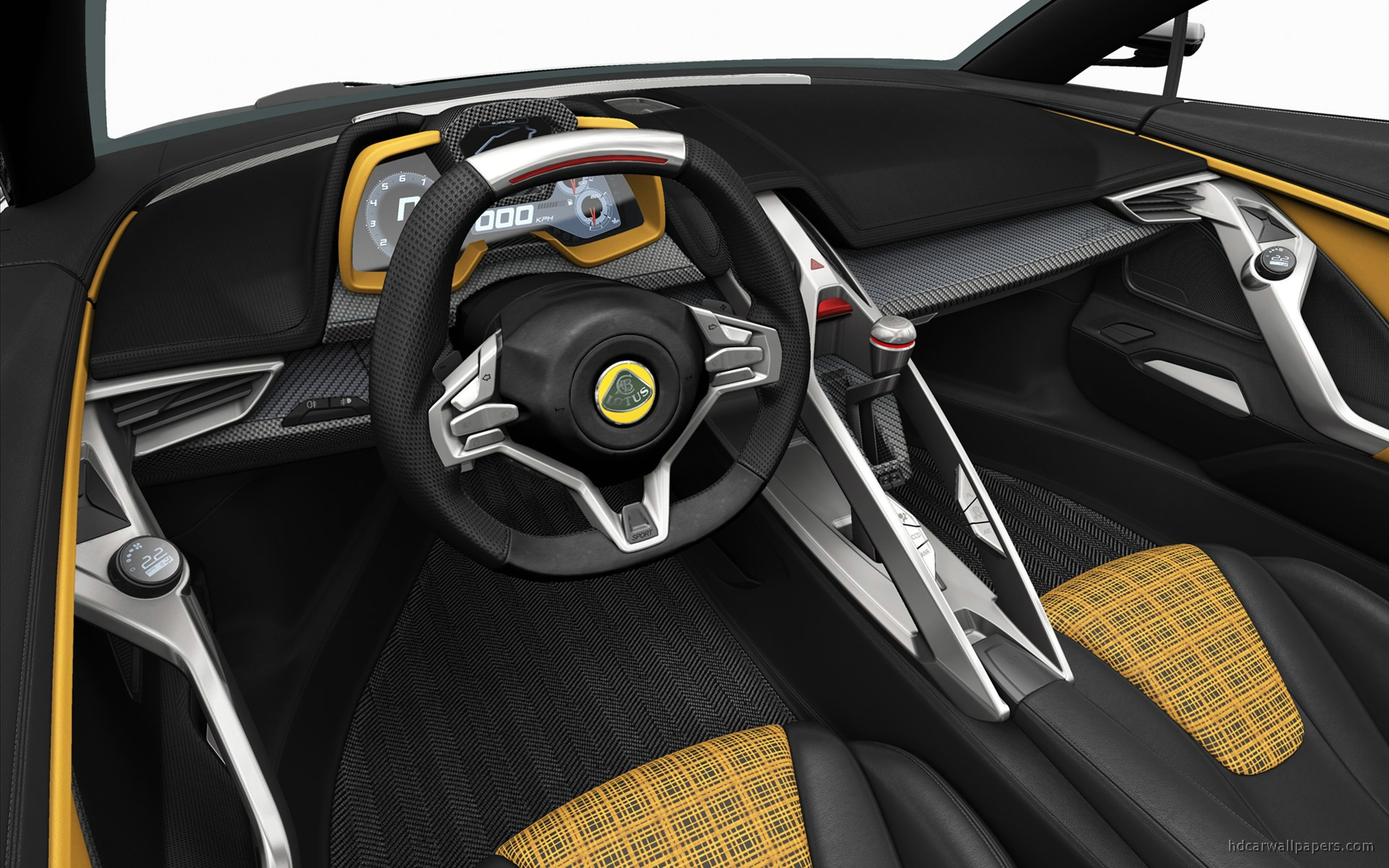 2015 lotus elise concept interior wallpaper hd car wallpapers id 1672. Black Bedroom Furniture Sets. Home Design Ideas