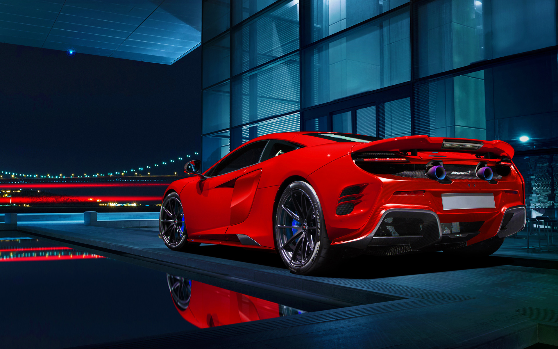 2015 Mclaren 675 LT Wallpaper