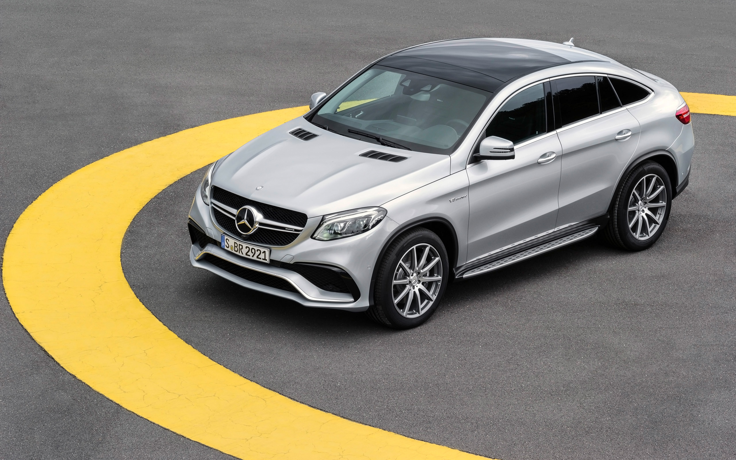 2015 Mercedes AMG GLE 63 Coupe Wallpaper | HD Car ...