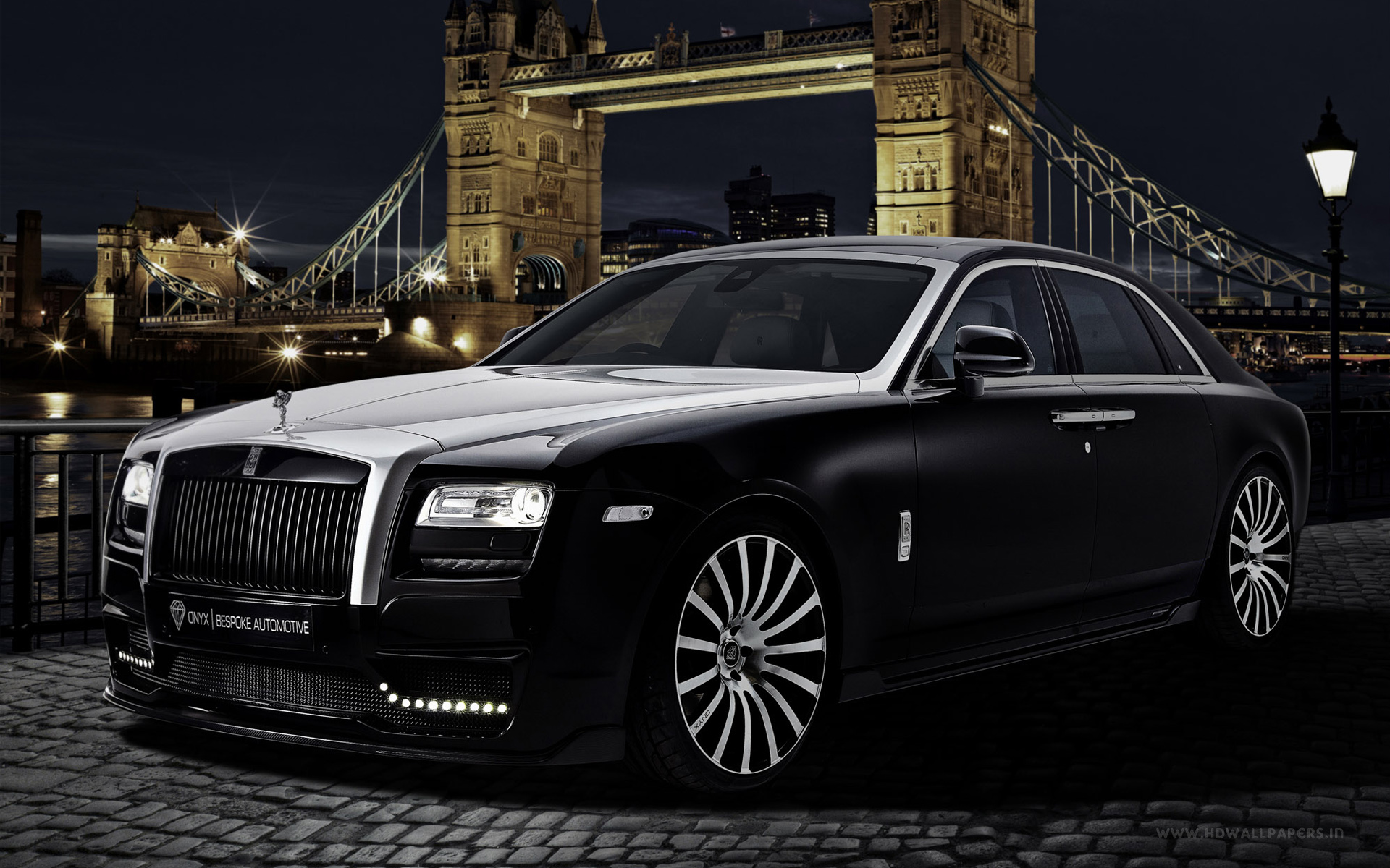 2015 onyx rolls royce ghost san mortiz wallpaper | hd car wallpapers