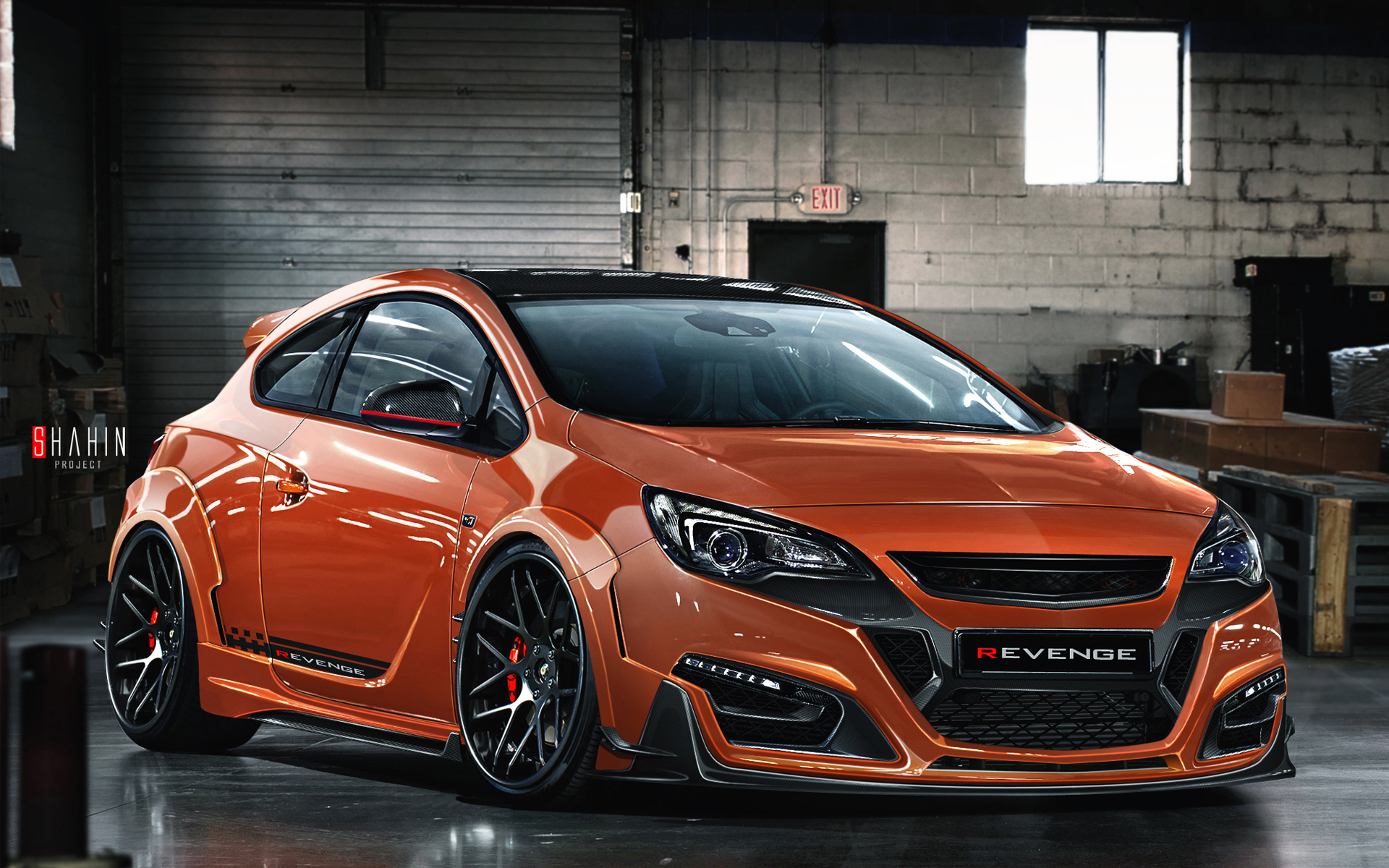 2015 opel astra gtc revenge wallpaper hd car wallpapers id 5605. Black Bedroom Furniture Sets. Home Design Ideas