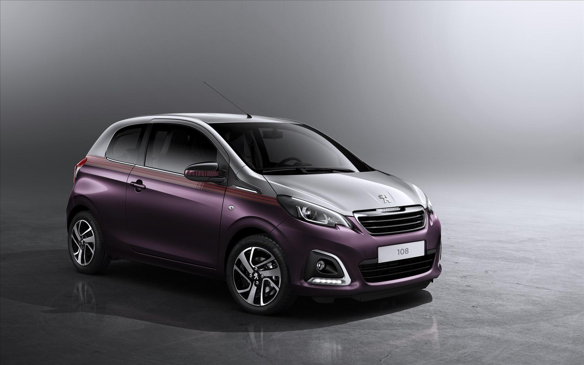 2015 Peugeot 108 Wallpaper | HD Car Wallpapers