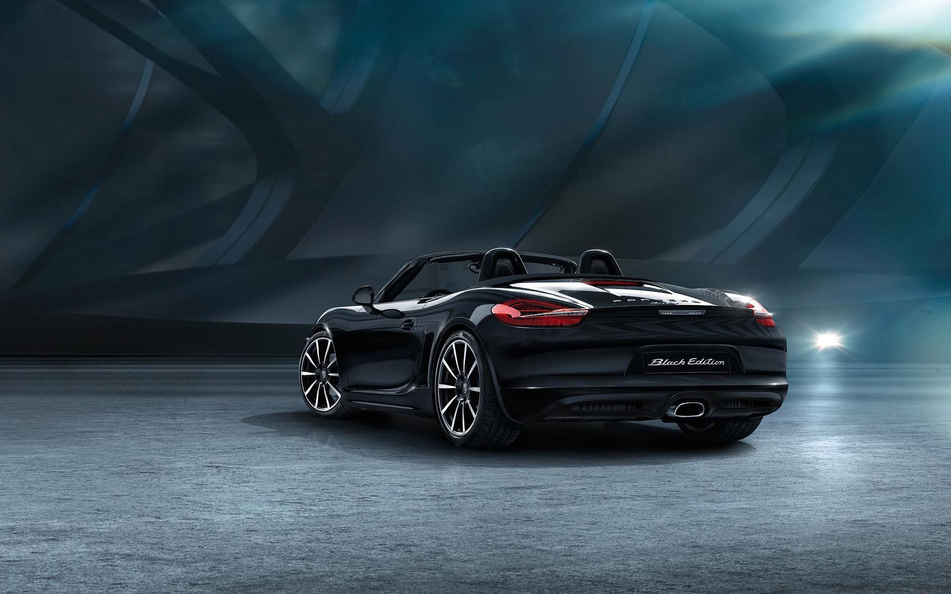 2015 Porsche Boxster Black Edition 2