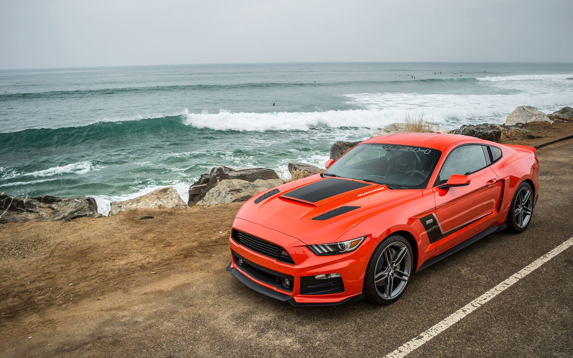 2015 roush performance ford mustang wallpaper | hd car wallpapers