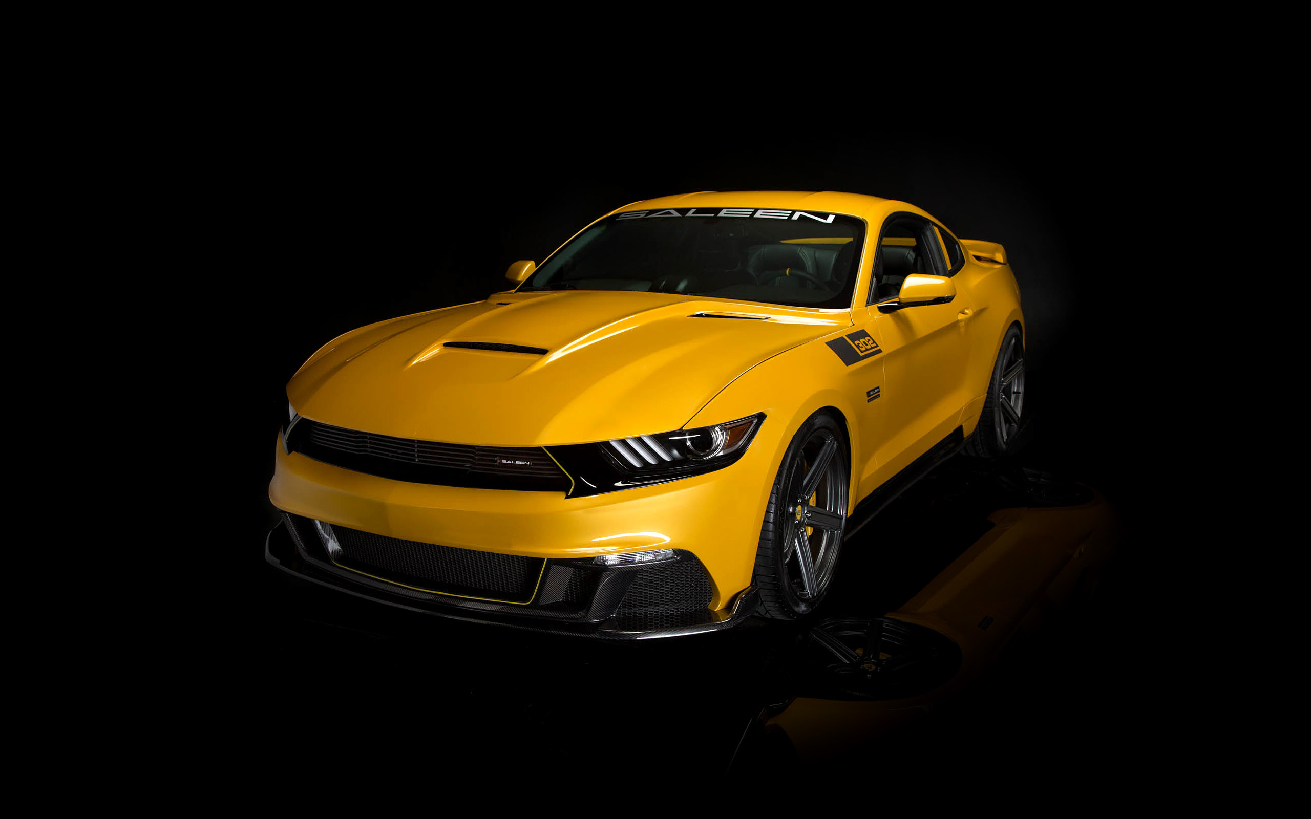 2015 Saleen Mustang S302 Black Label Wallpaper Hd Car
