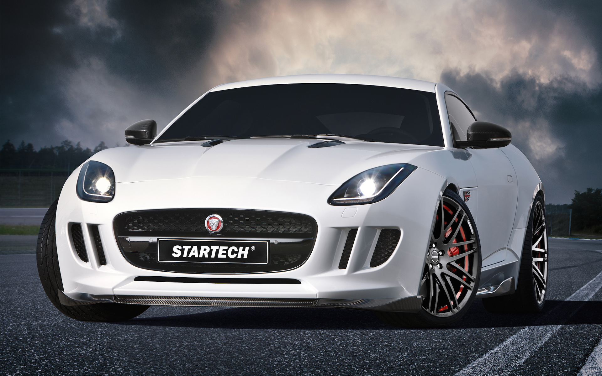 Jaguar Car Wallpaper Wallpapers High Quality: 2015 Startech Jaguar F Type Coupe Wallpaper