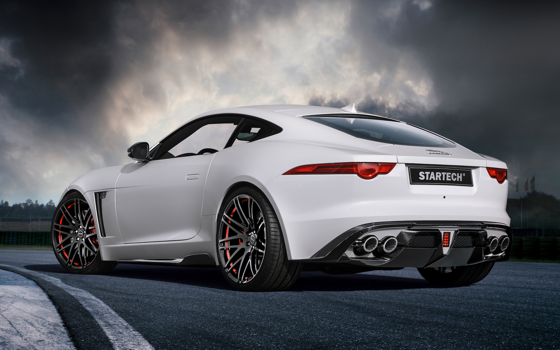 Jaguar f type coupe wallpaper - photo#2