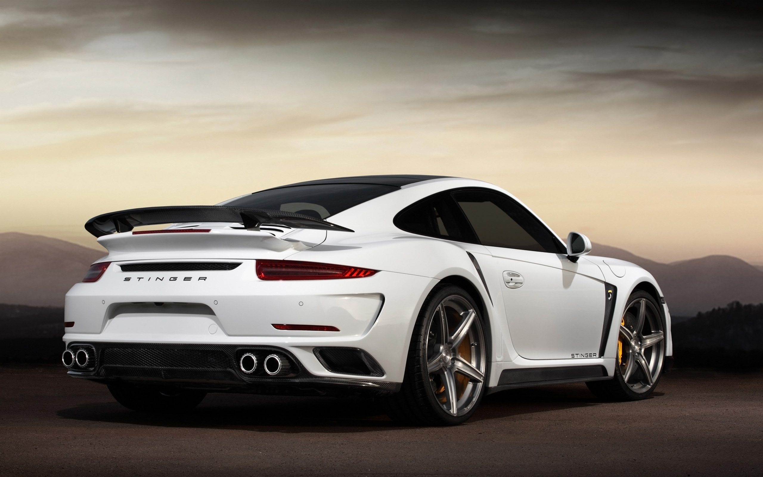 2015 topcar porsche 991 turbo stinger gtr 2 wallpaper hd. Black Bedroom Furniture Sets. Home Design Ideas