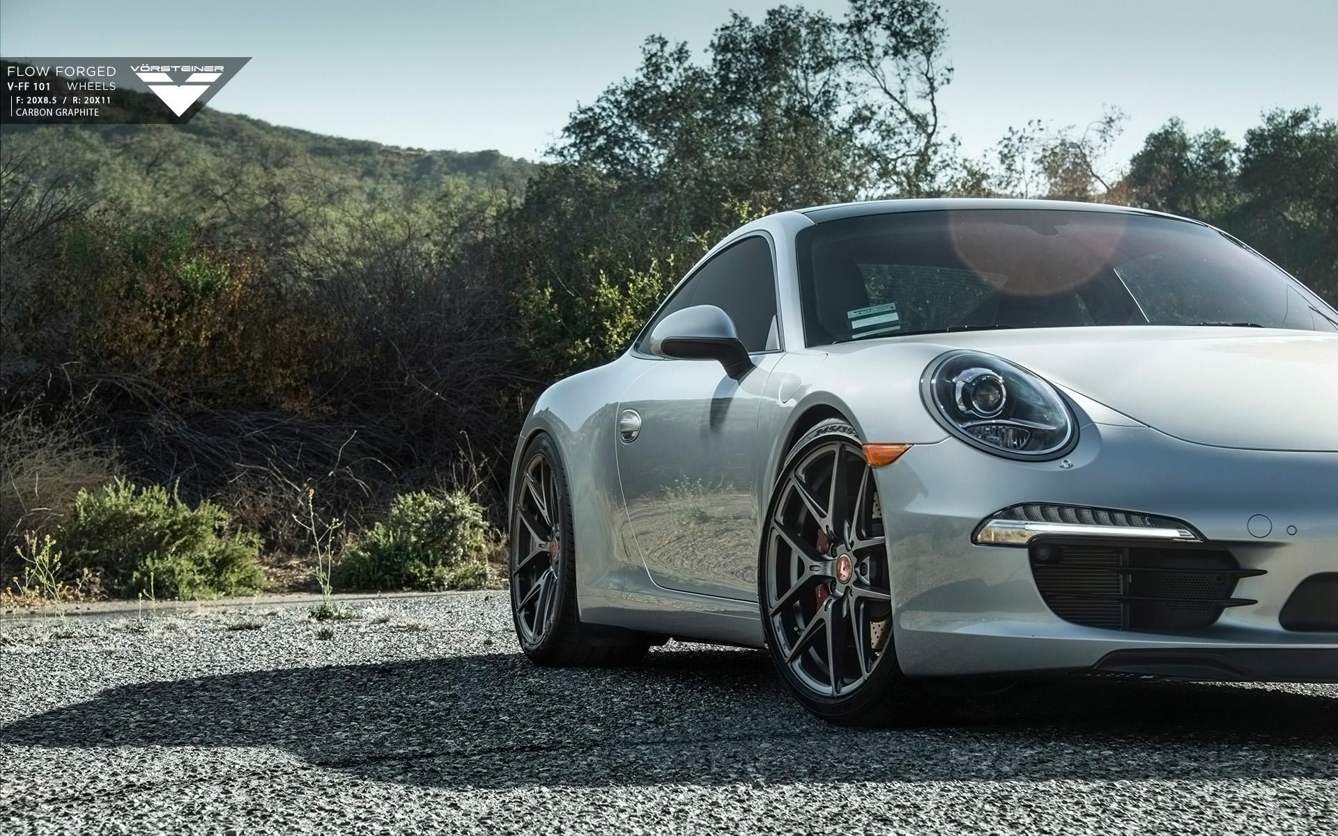2015 Vorsteiner Porsche 911 Carrera S Wallpaper Hd Car