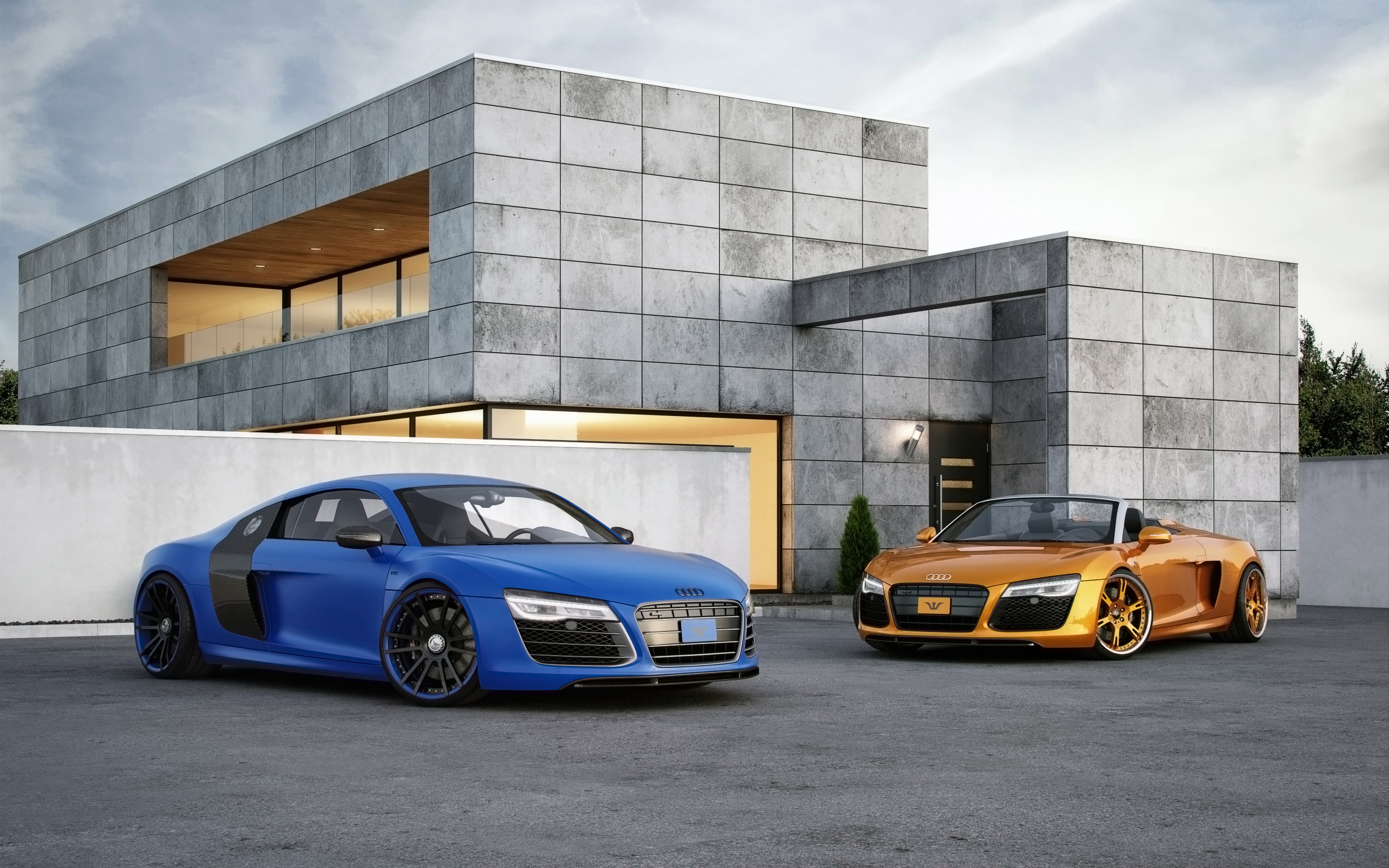 2015 Wheelsandmore Audi R8 V10 Wallpaper Hd Car Wallpapers Id 5884