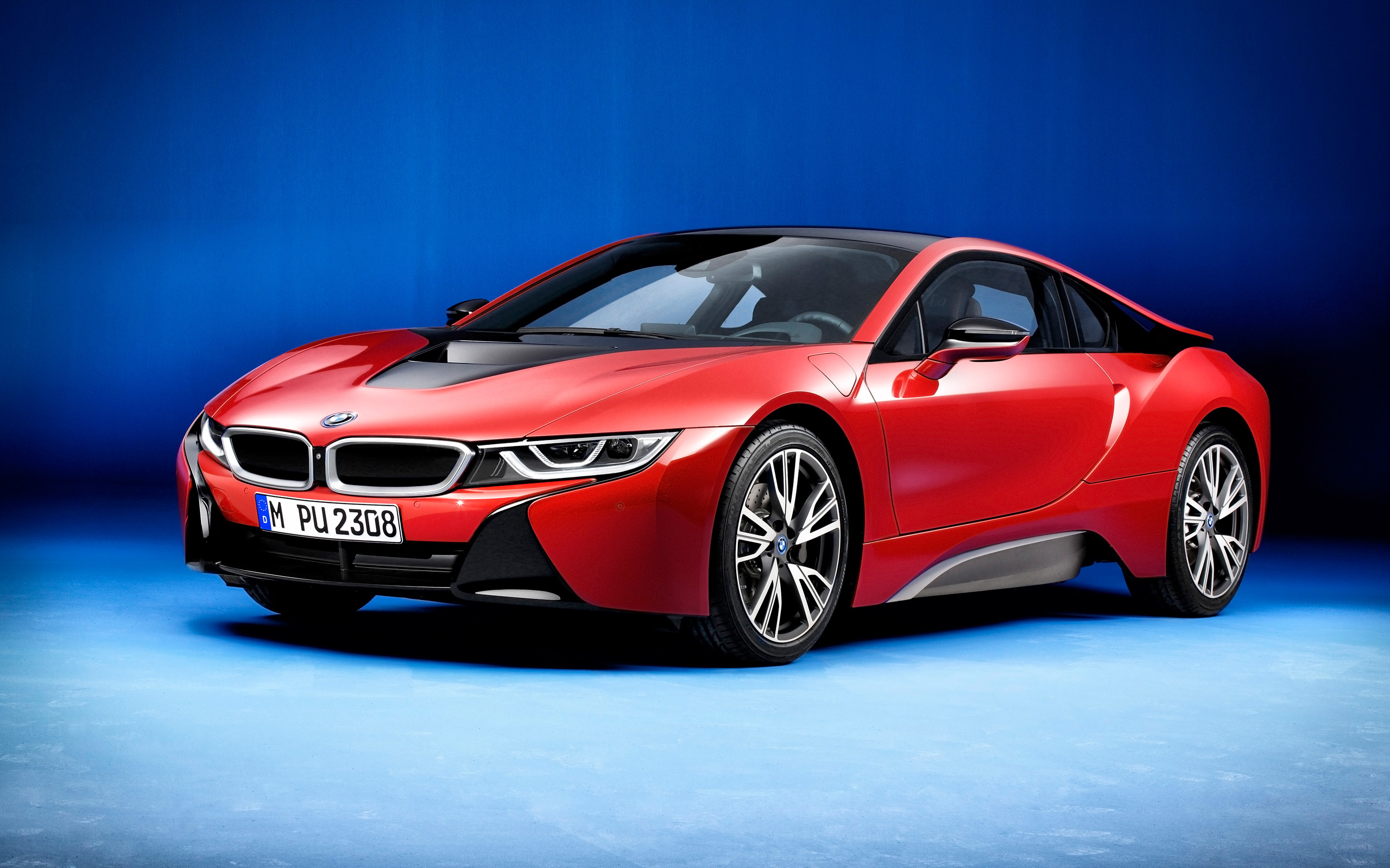 2016 Bmw I8 Protonic Red Edition Wallpaper Hd Car Wallpapers Id