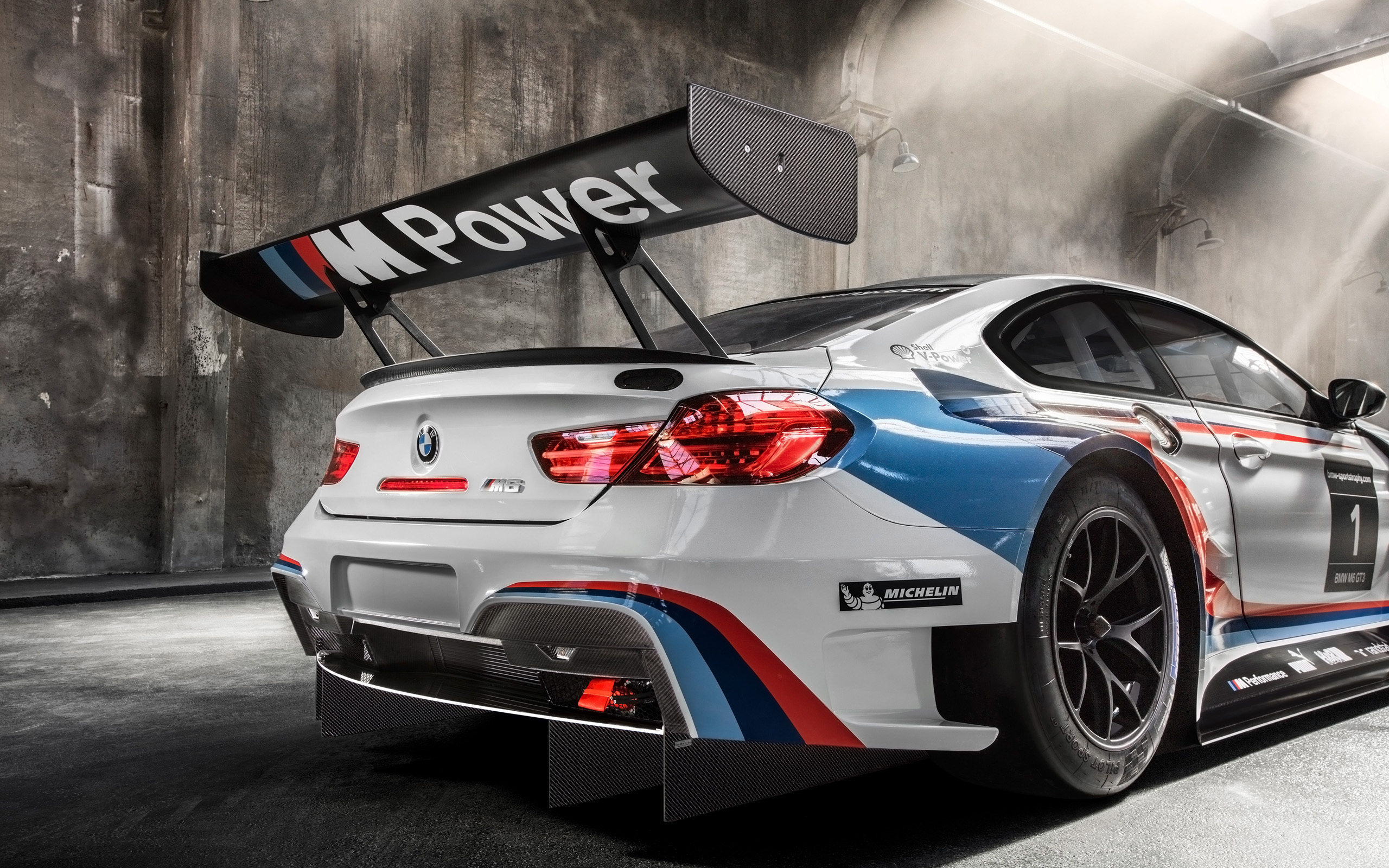 2016 bmw m6 gt3 wallpaper | hd car wallpapers | id #5893