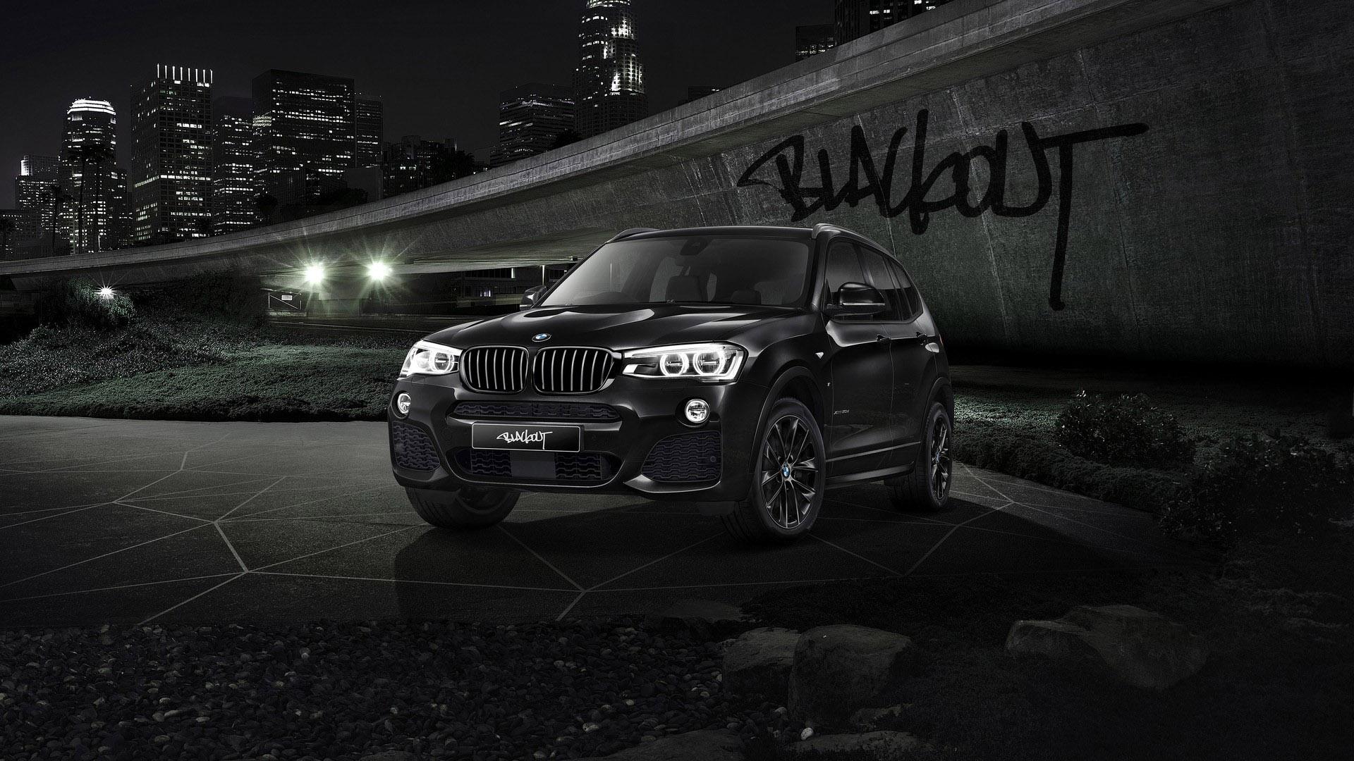 2016 BMW X3 Blackout Edition Wallpaper | HD Car Wallpapers ...