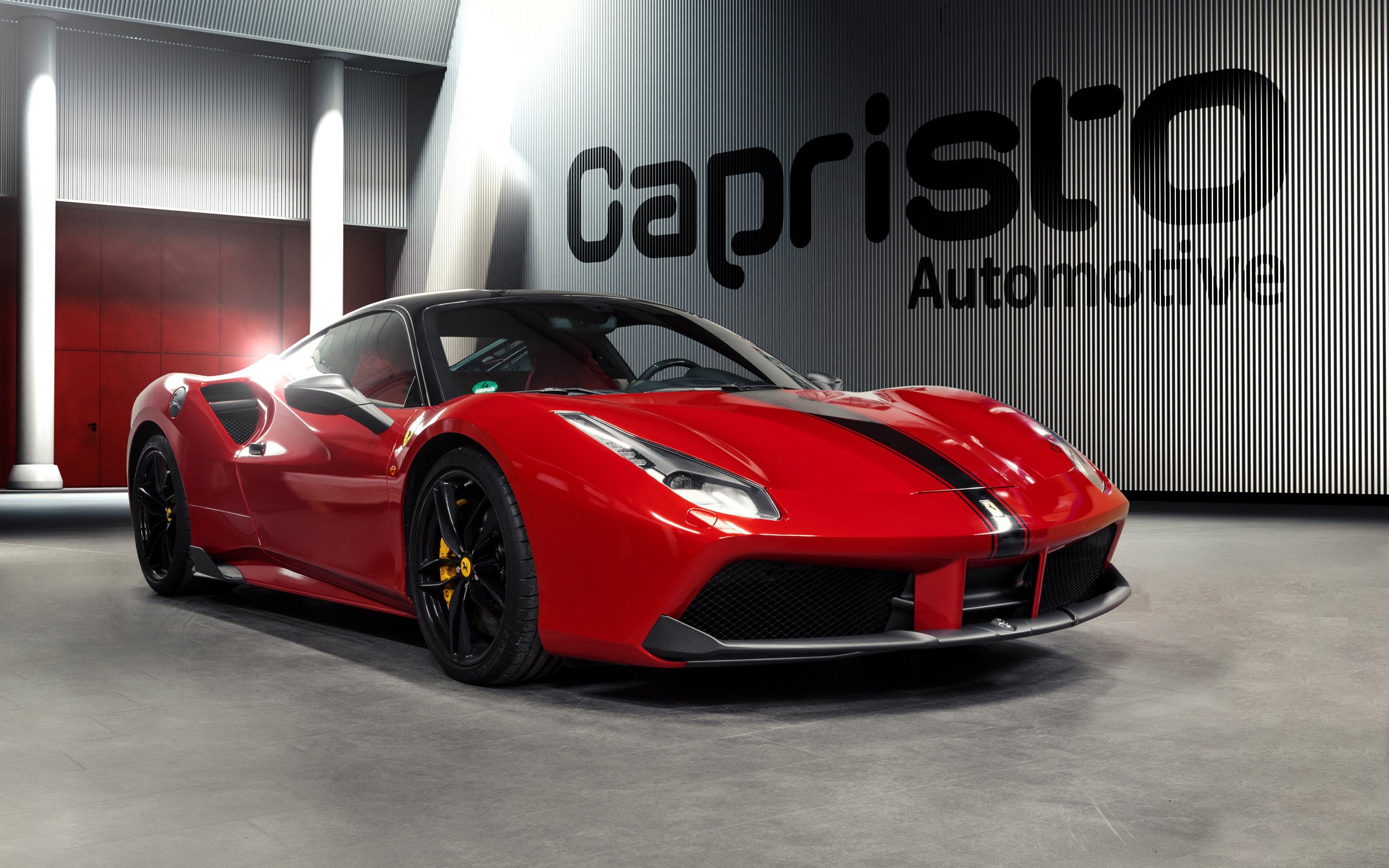 2016 Capristo Automotive Ferrari 488 Gtb Wallpaper Hd Car