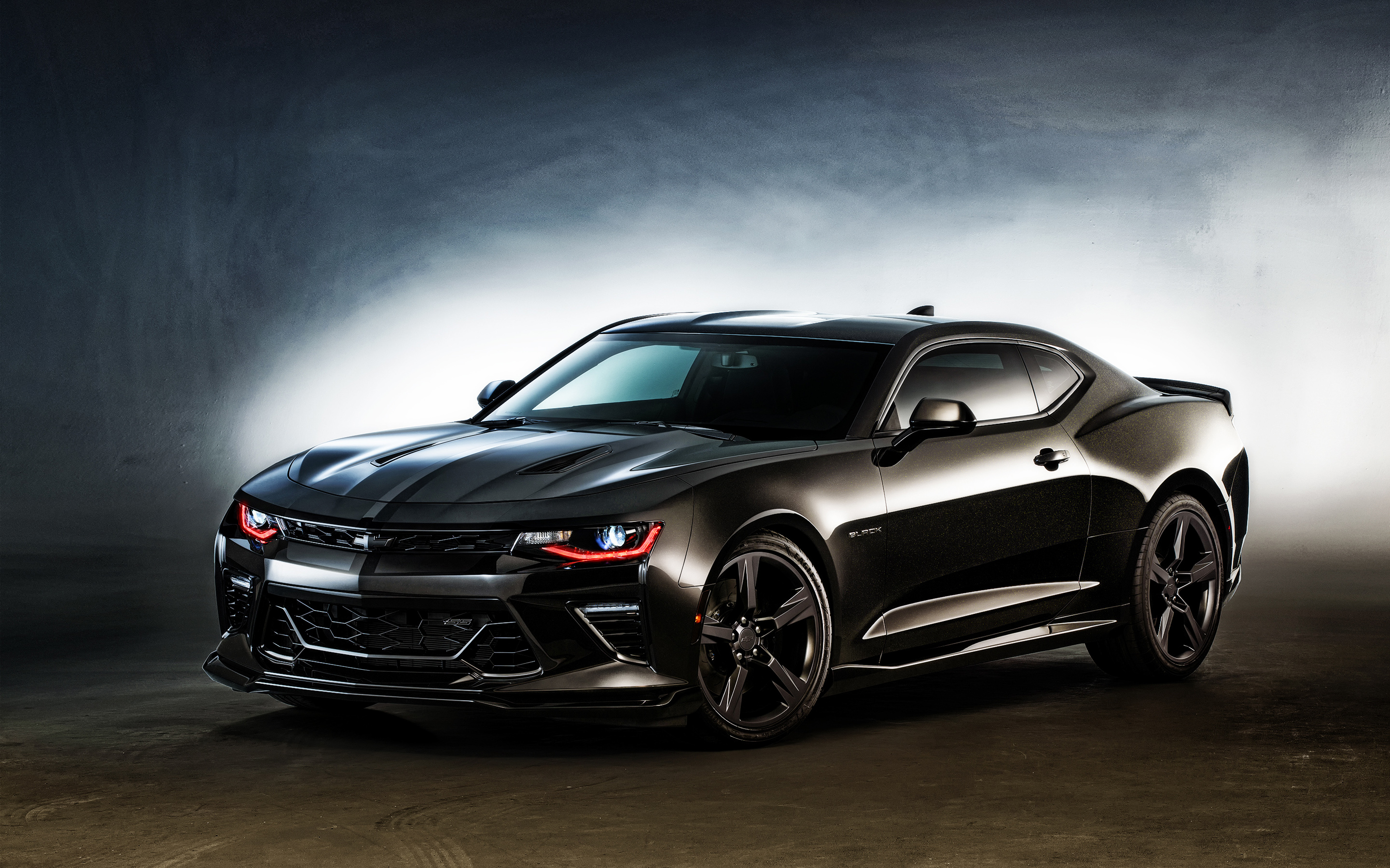 2016 chevrolet camaro black