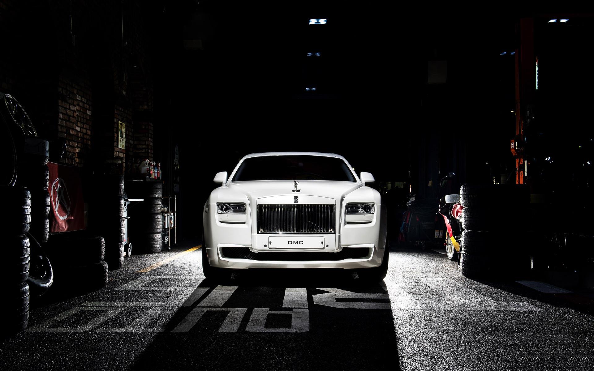 2016 DMC Rolls Royce Ghost SaRangHae Wallpaper | HD Car Wallpapers