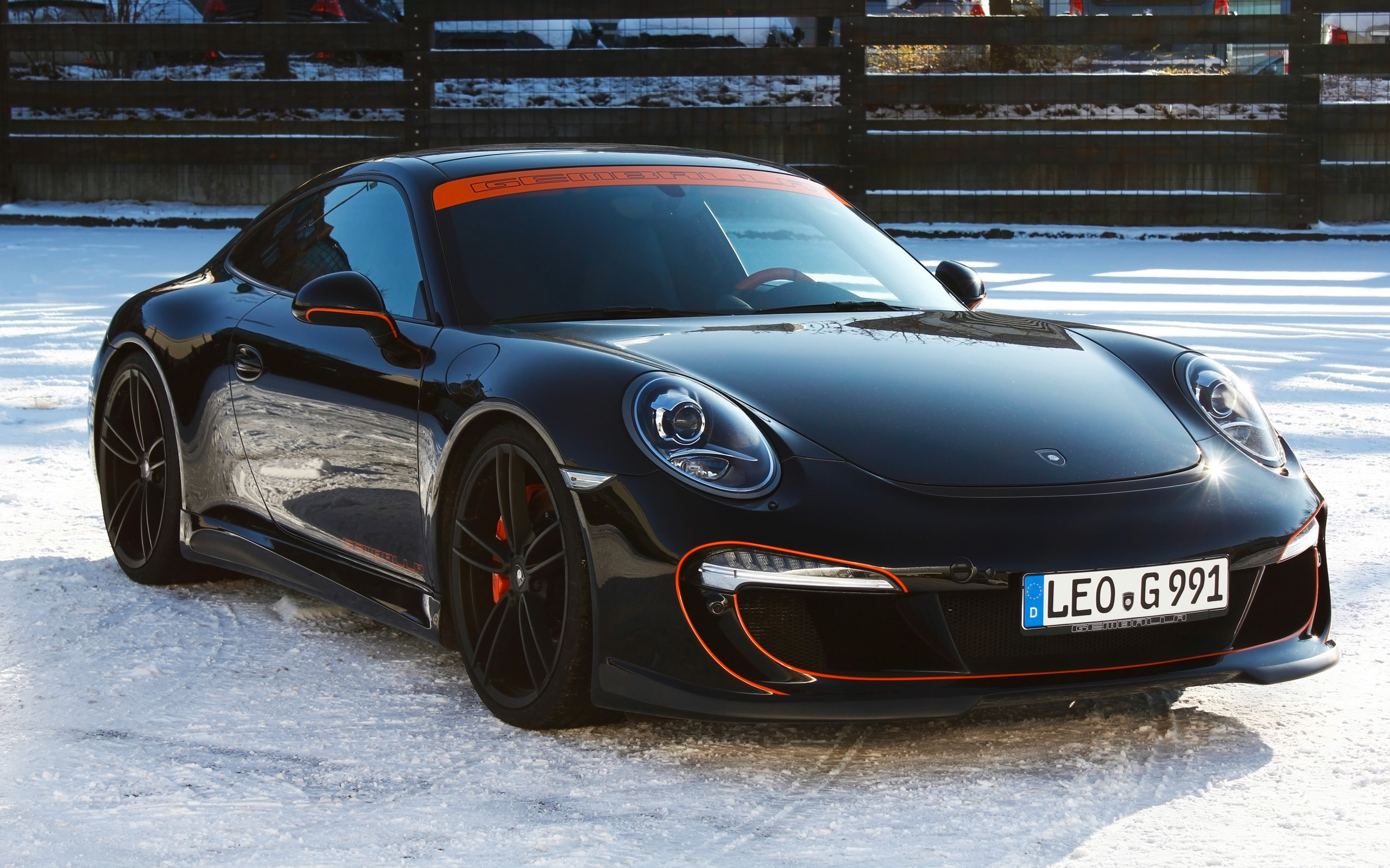 2016 Gemballa Porsche 911 Gforged One Black Wallpaper Hd Car