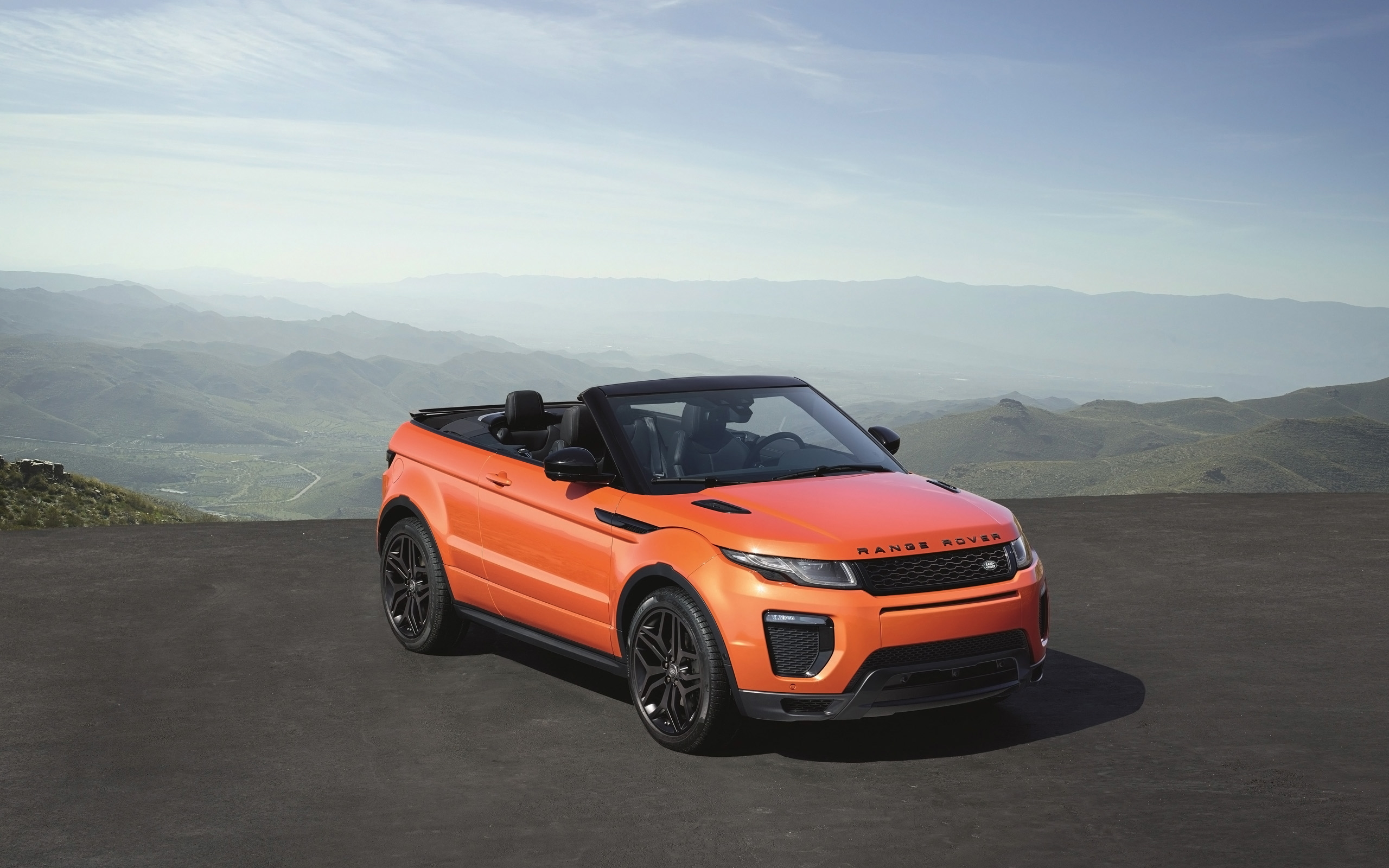 2016 land rover range rover evoque convertible 2 wallpaper hd car wallpapers id 5955. Black Bedroom Furniture Sets. Home Design Ideas