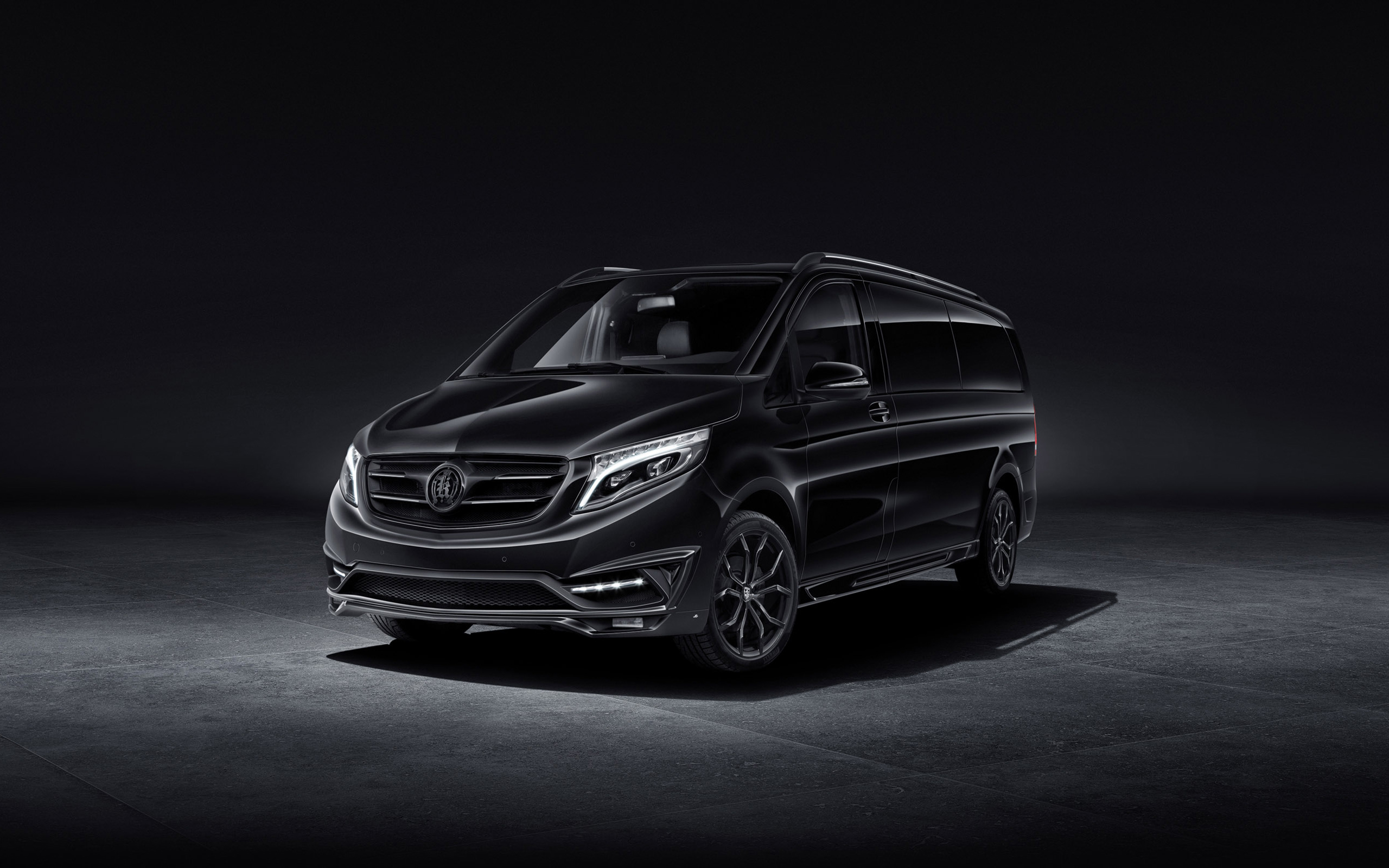 2016 Larte Design Mercedes Benz V Class Black Crystal