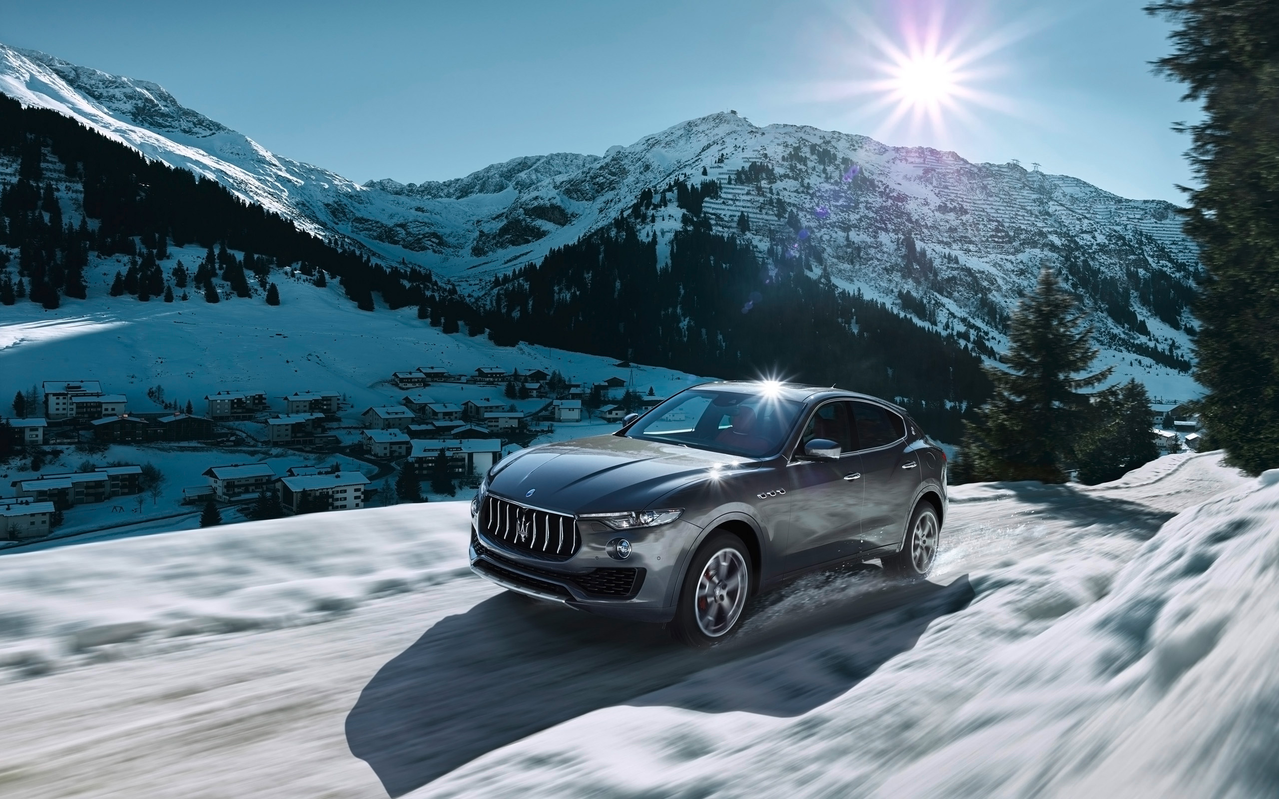 2016 Maserati Levante Wallpaper Hd Car Wallpapers
