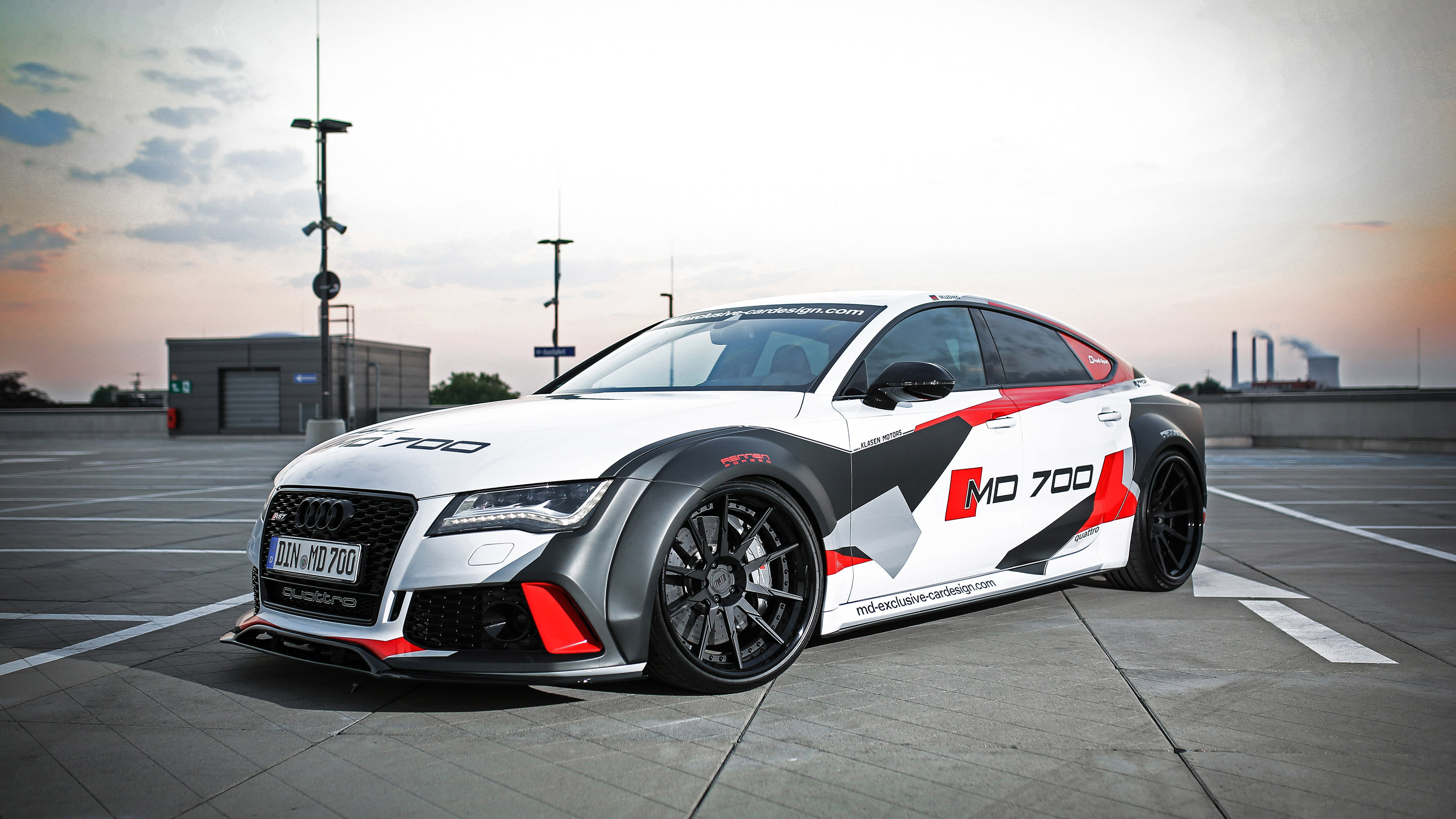 2016 Md Exclusive Cardesign Audi Rs7 Wallpaper Hd Car