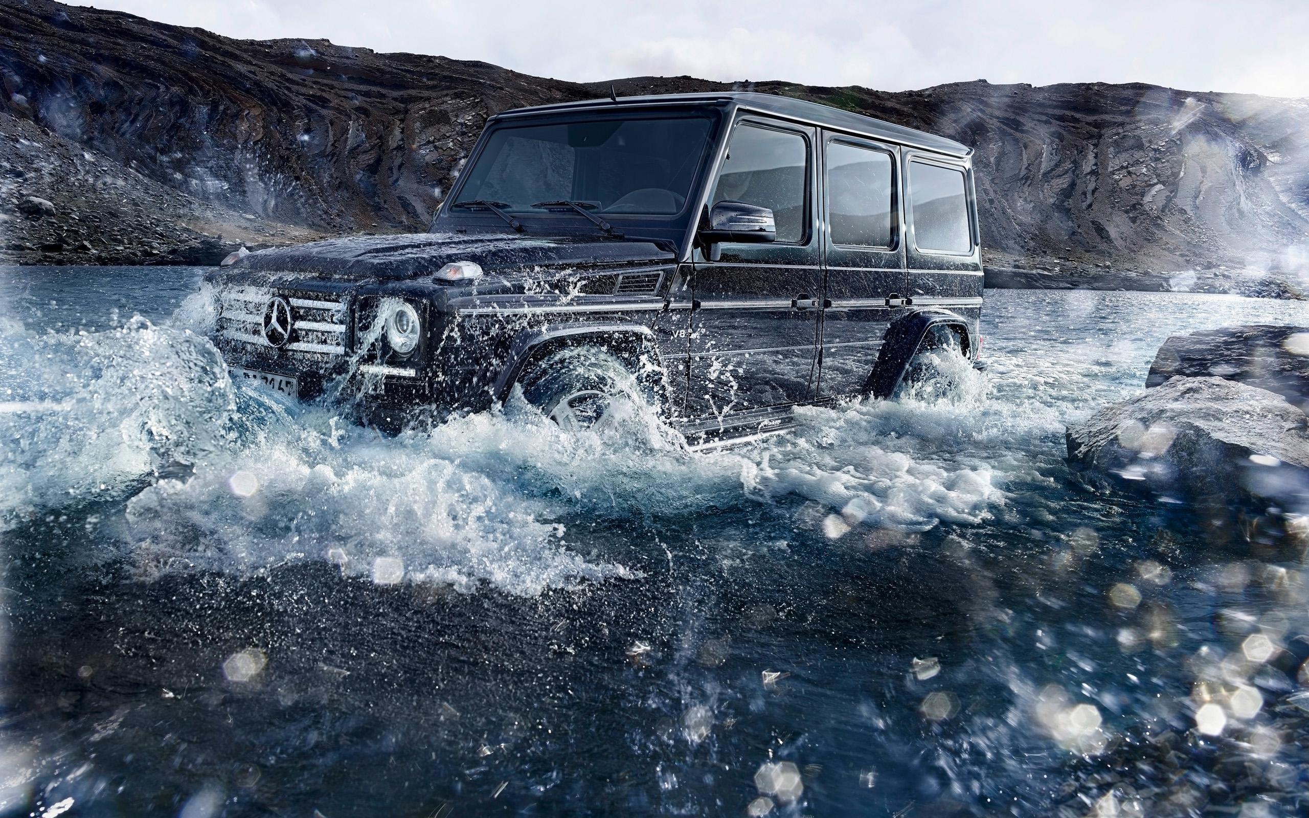 2016 Mercedes Benz G Class Off Road Wallpaper Hd Car