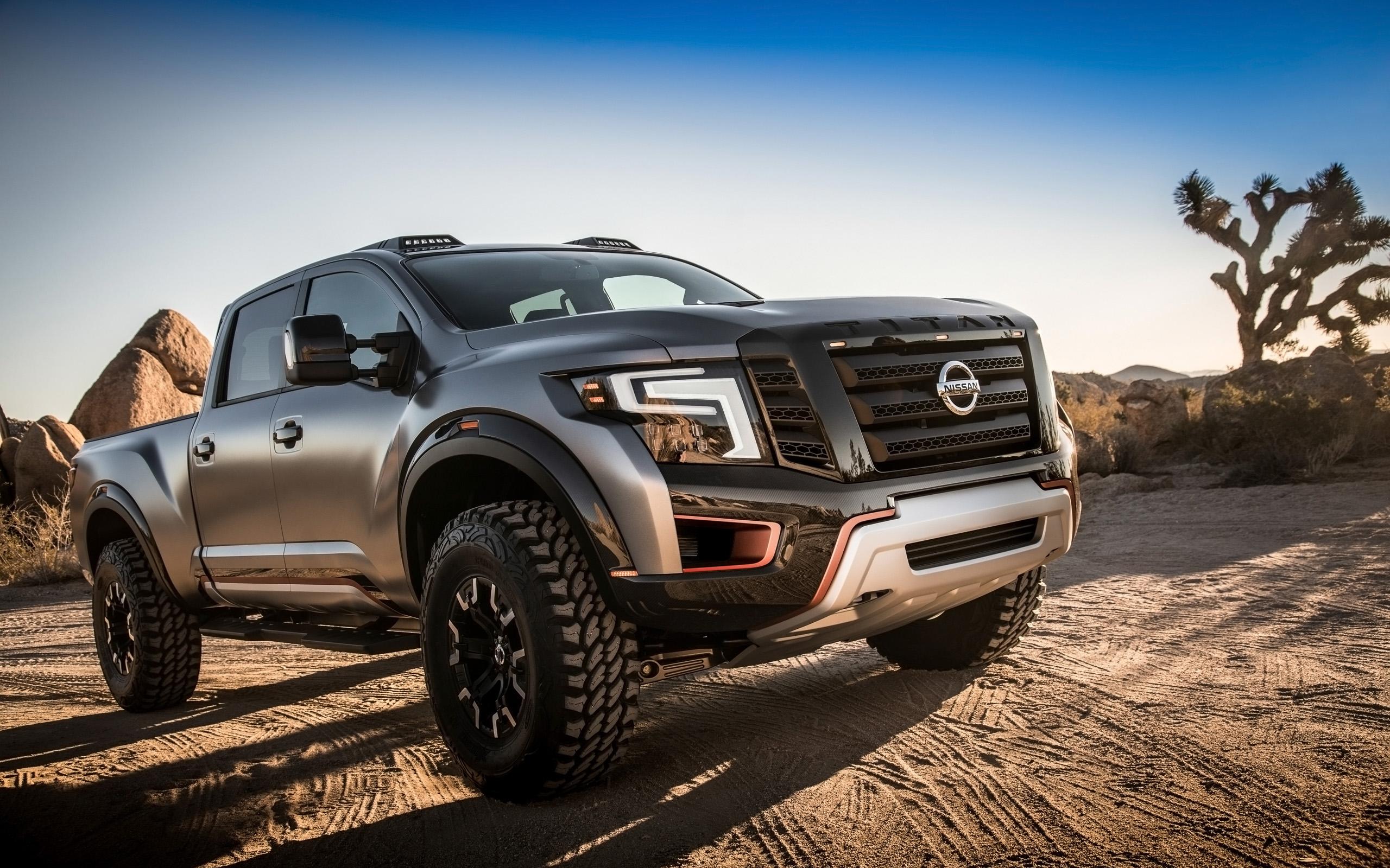 2016 Nissan Titan Warrior Concept Wallpaper   HD Car ...