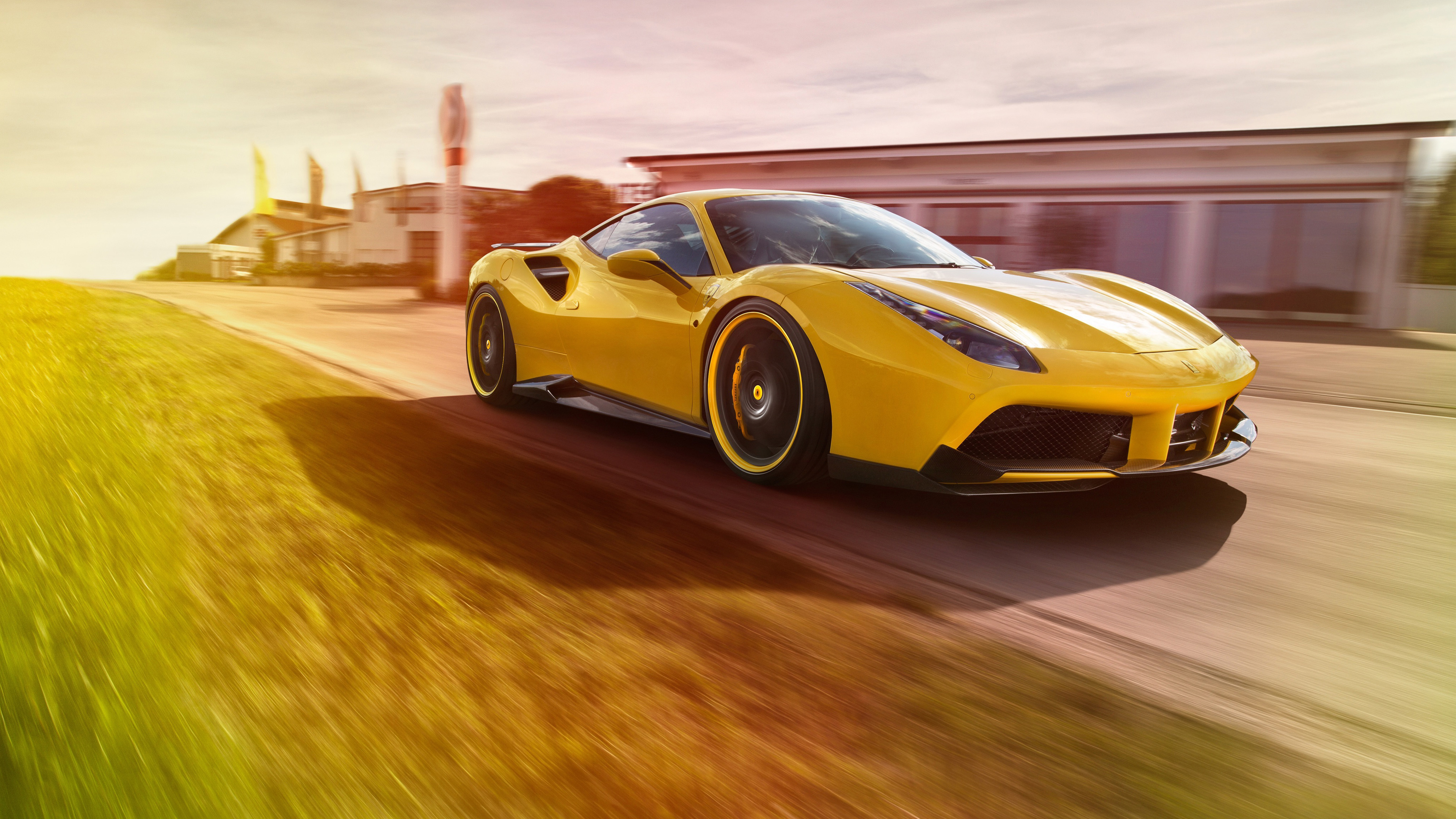2016 Ferrari 488 GTS Novitec Rosso 4K Wallpaper | HD Car Wallpapers