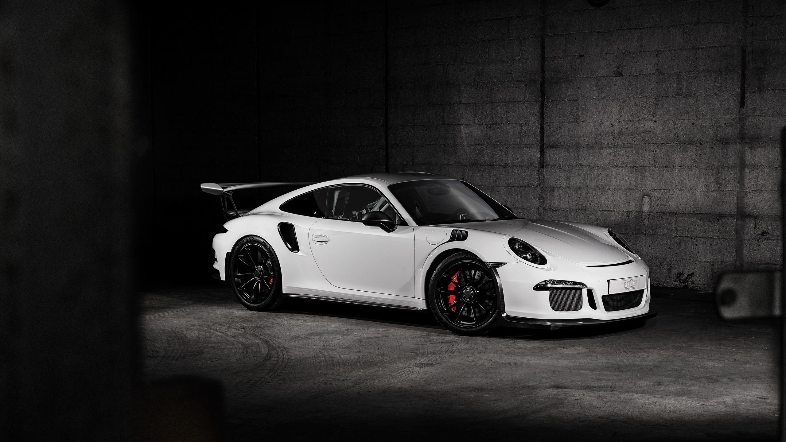 2016 Porsche 911 GT3 RS Carbon TechArt Wallpaper