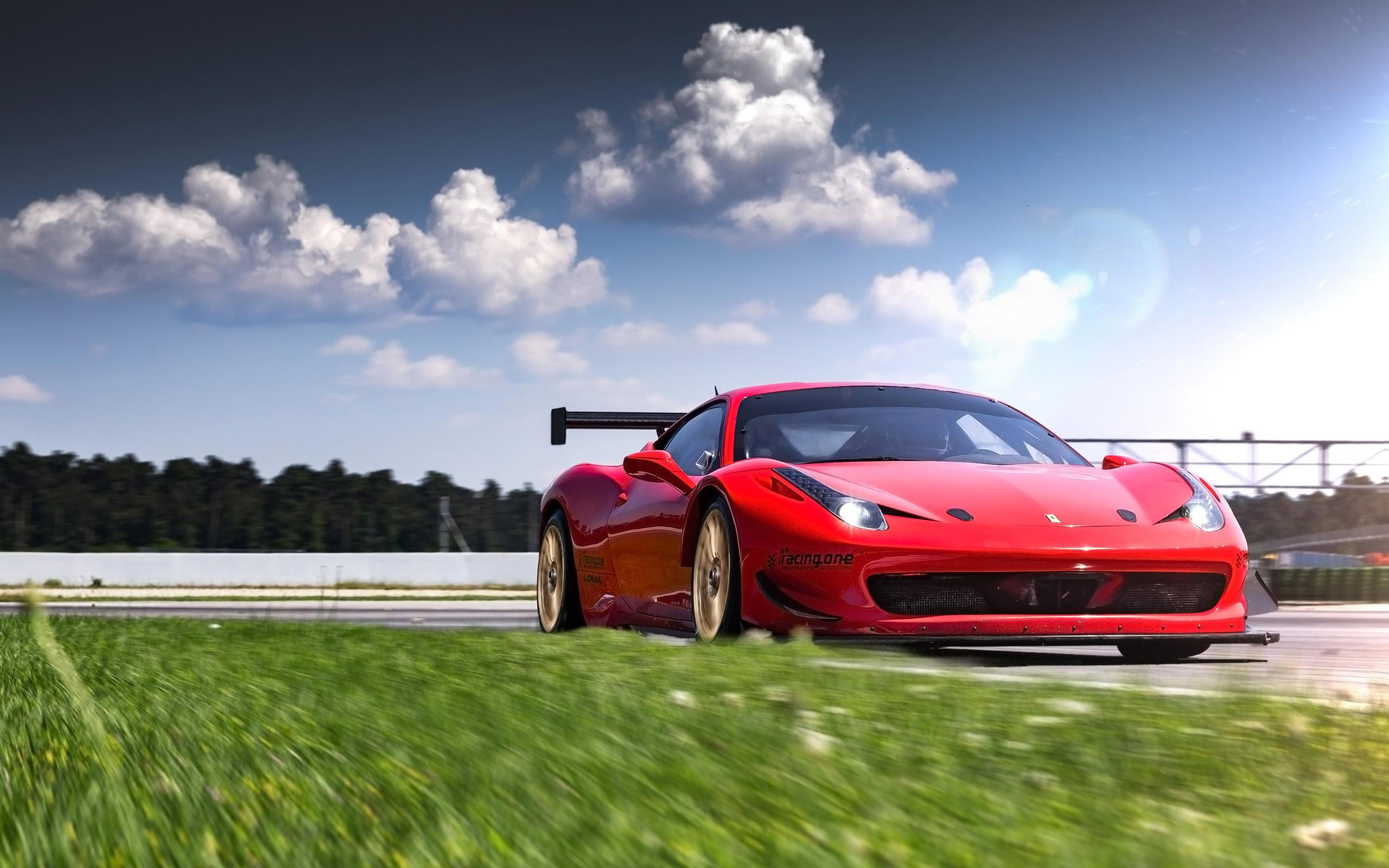 2016 Racing One Ferrari 458 Loma Wheels 2 Wallpaper Hd Car Wallpapers Id 6728