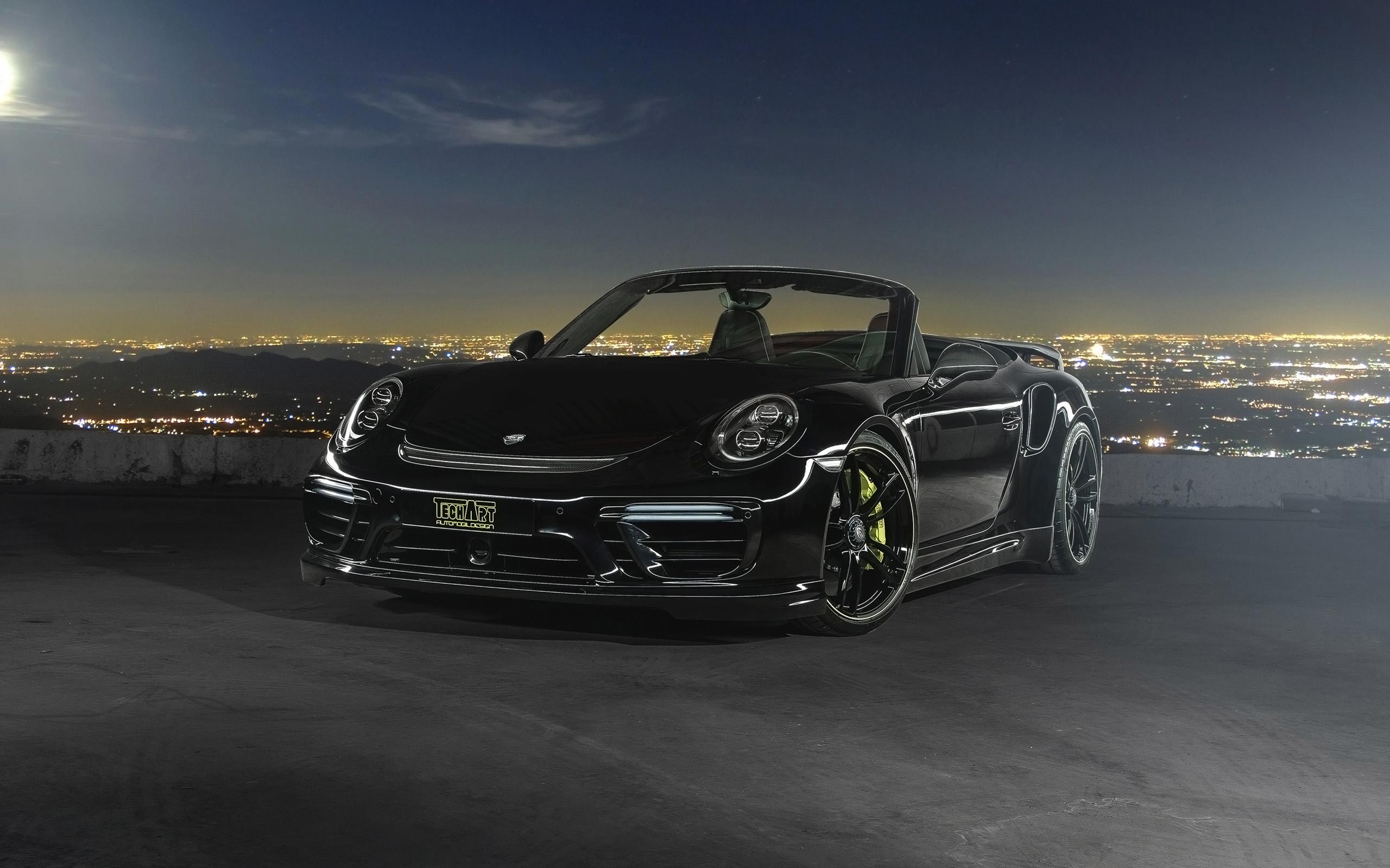 2016 TechArt Porsche 911 Convertible Wallpaper
