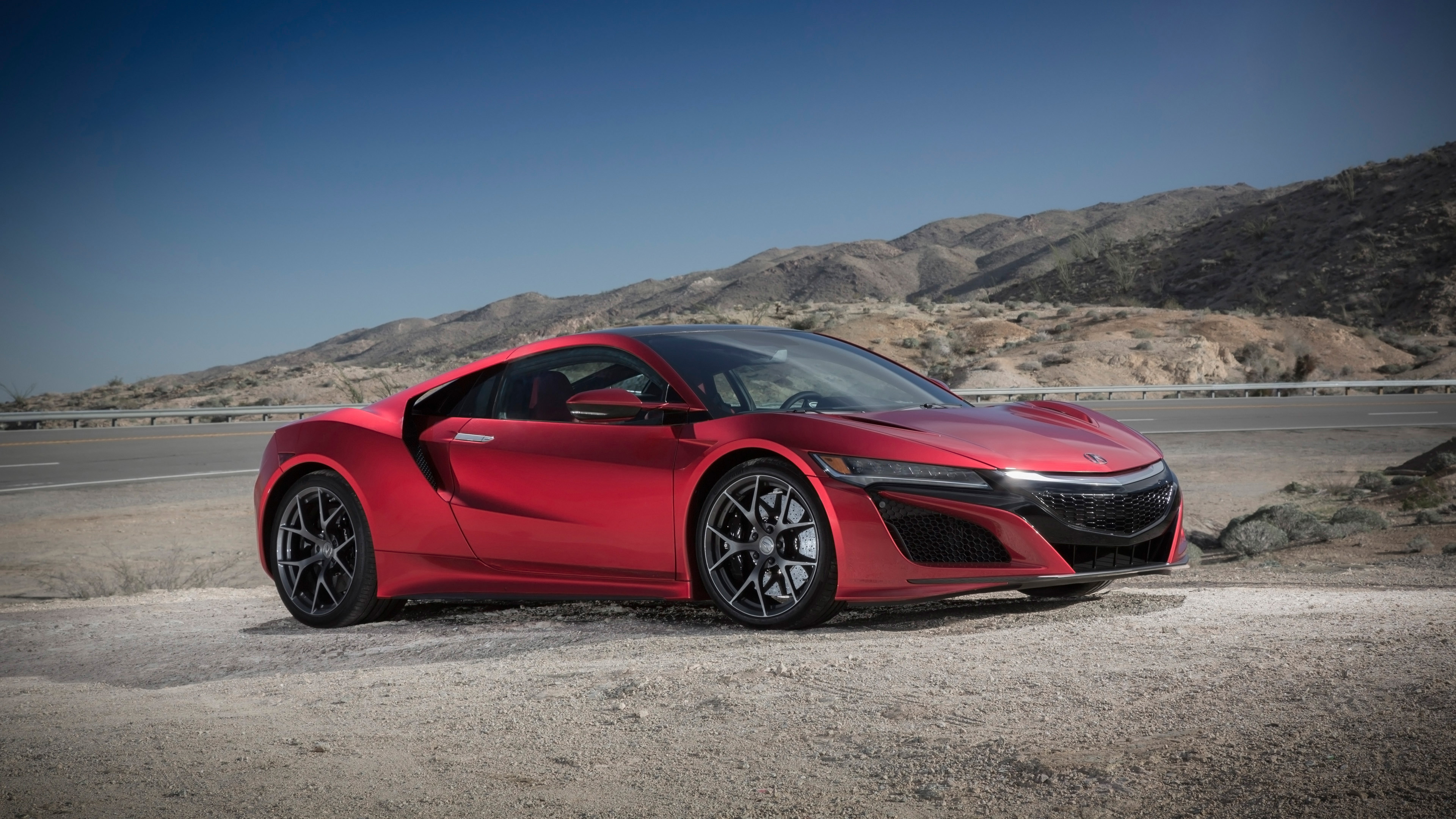 2017 Acura NSX Red 3 Wallpaper | HD Car Wallpapers | ID #8239