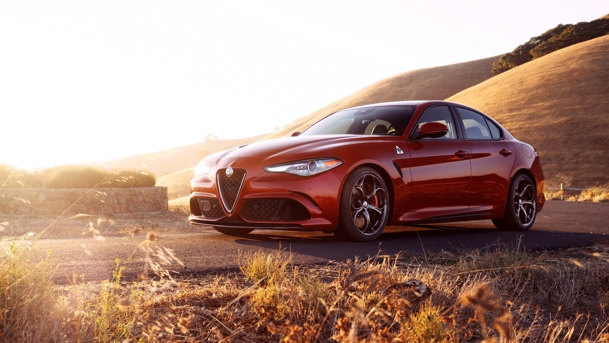 2017 Alfa Romeo Giulia Quadrifoglio 4 Wallpaper Hd Car
