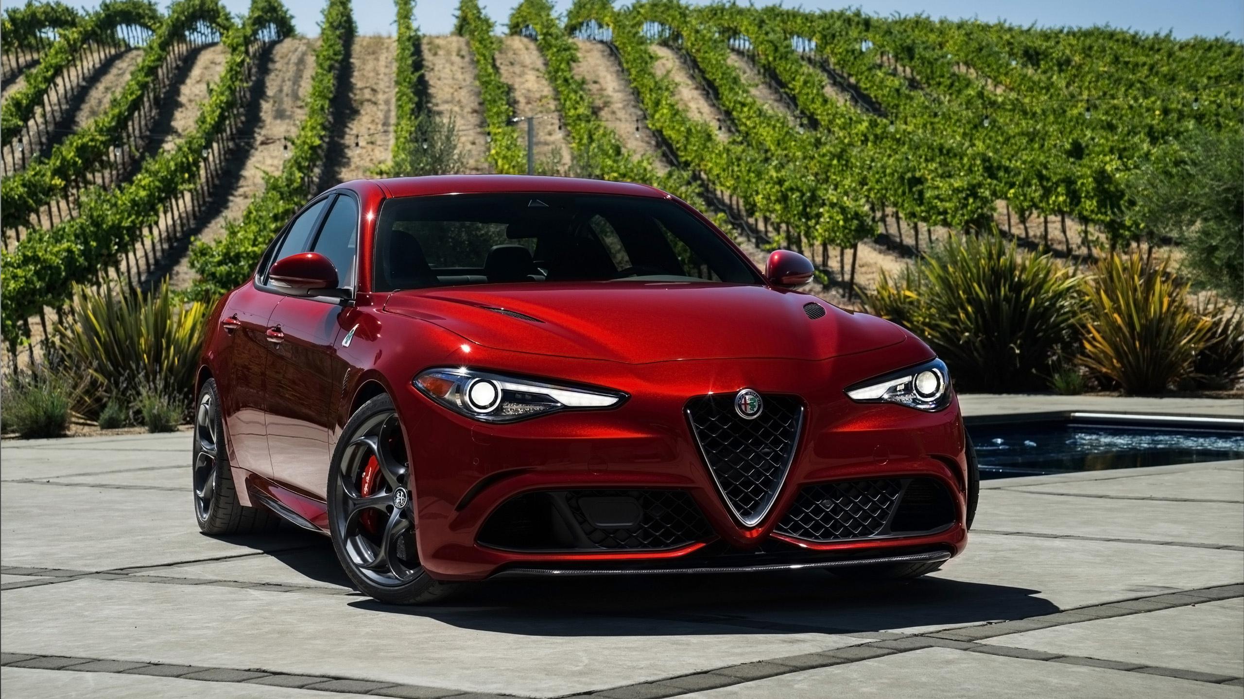 2017 Alfa Romeo Giulia Quadrifoglio 5 Wallpaper Hd Car Wallpapers Id 7293