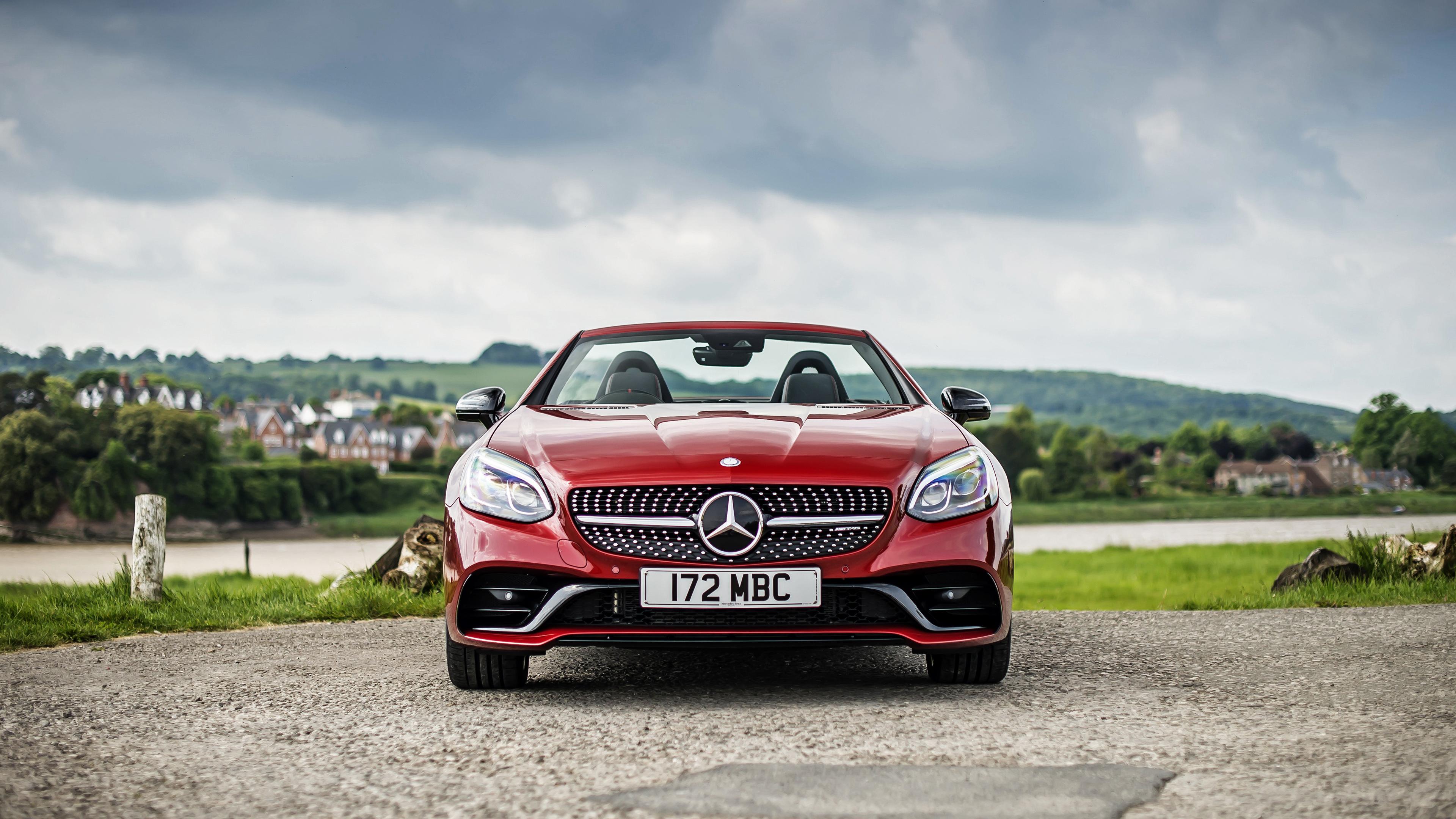 2017 amg mercedes benz slc wallpaper hd car wallpapers for Mercedes benz sports car 2017