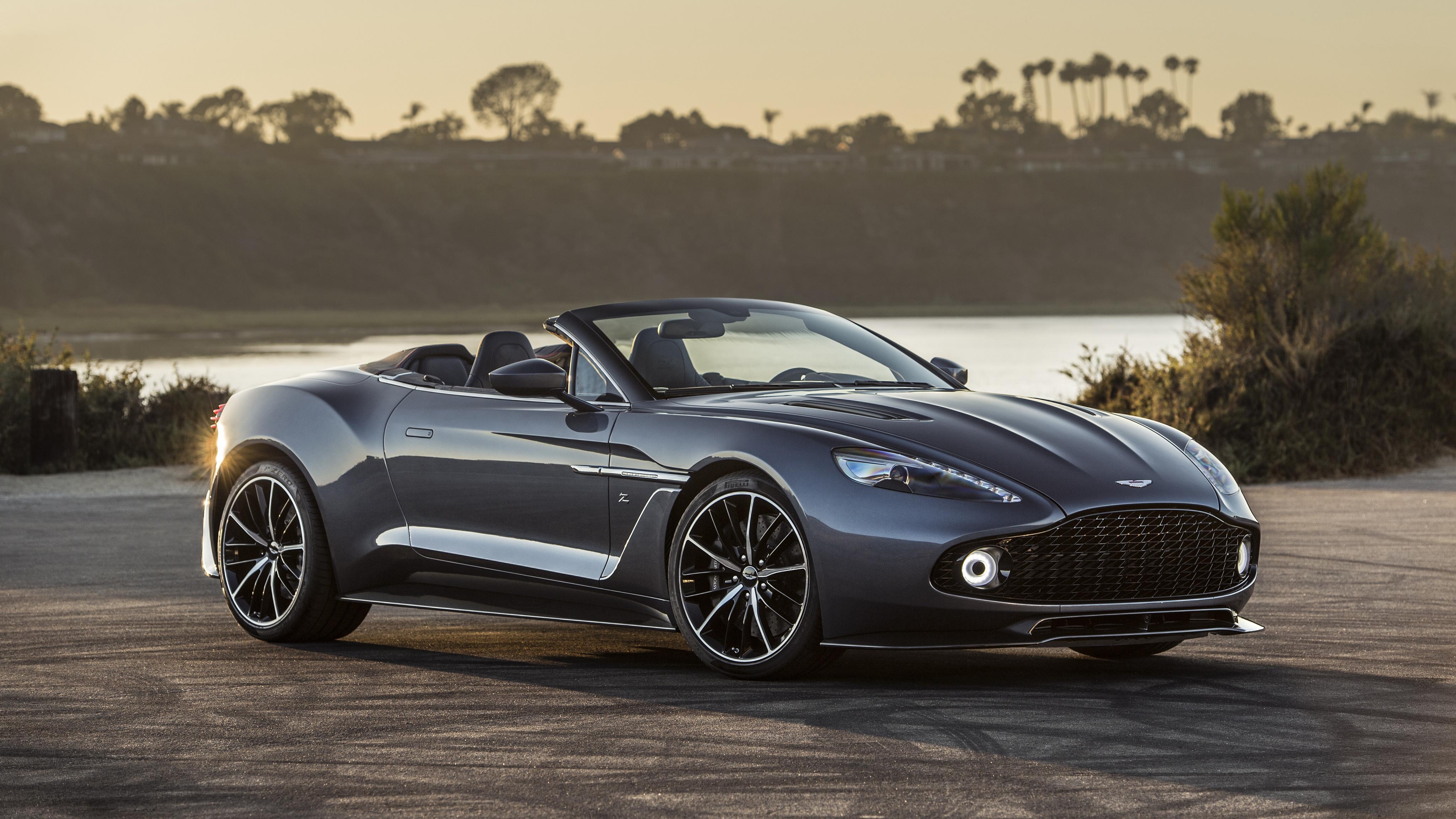 2017 Aston Martin Vanquish Zagato Volante 4K Wallpaper ...