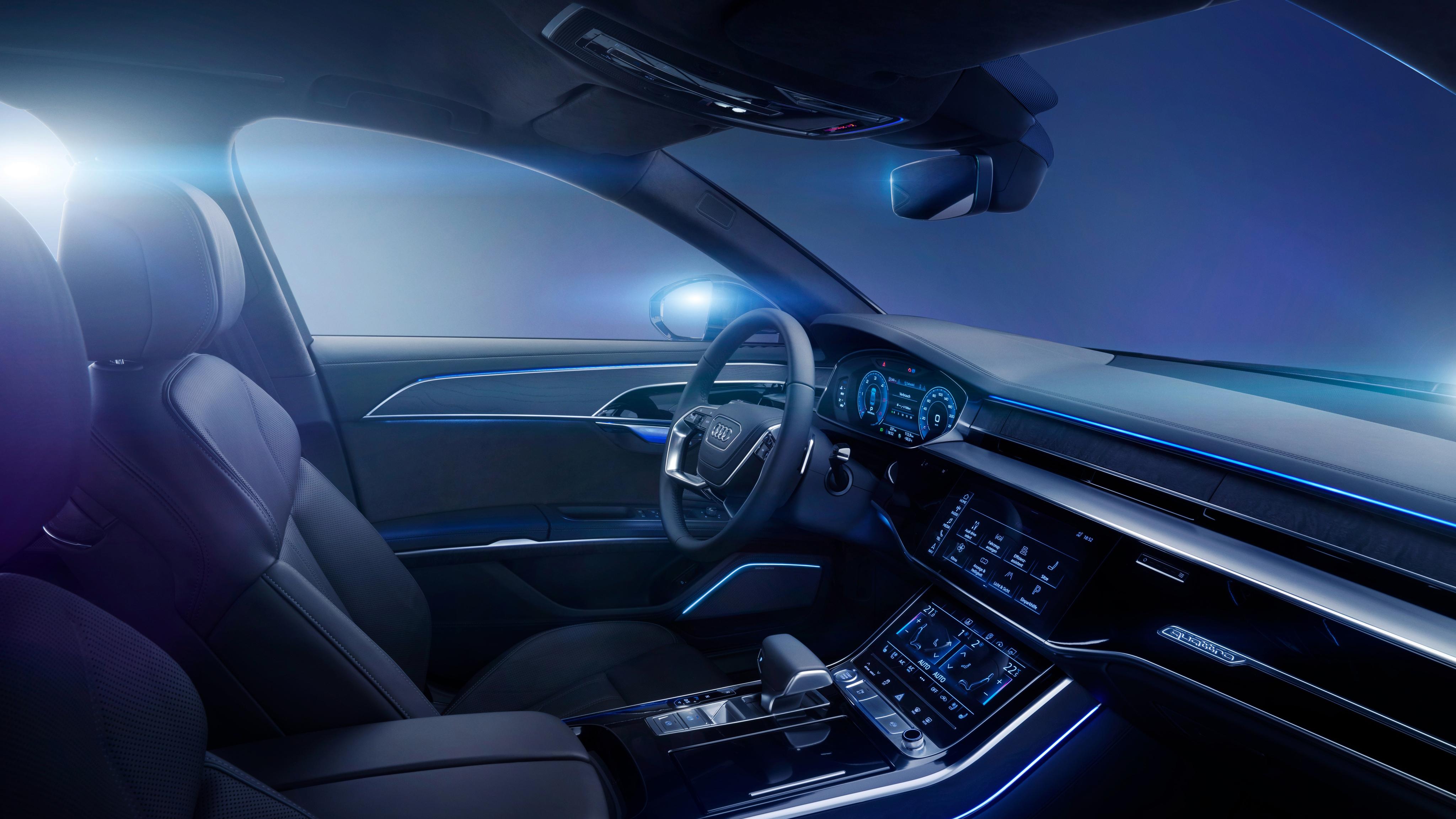 2017 Audi A8 3 TDI Quattro 4K Interior Wallpaper | HD Car ...