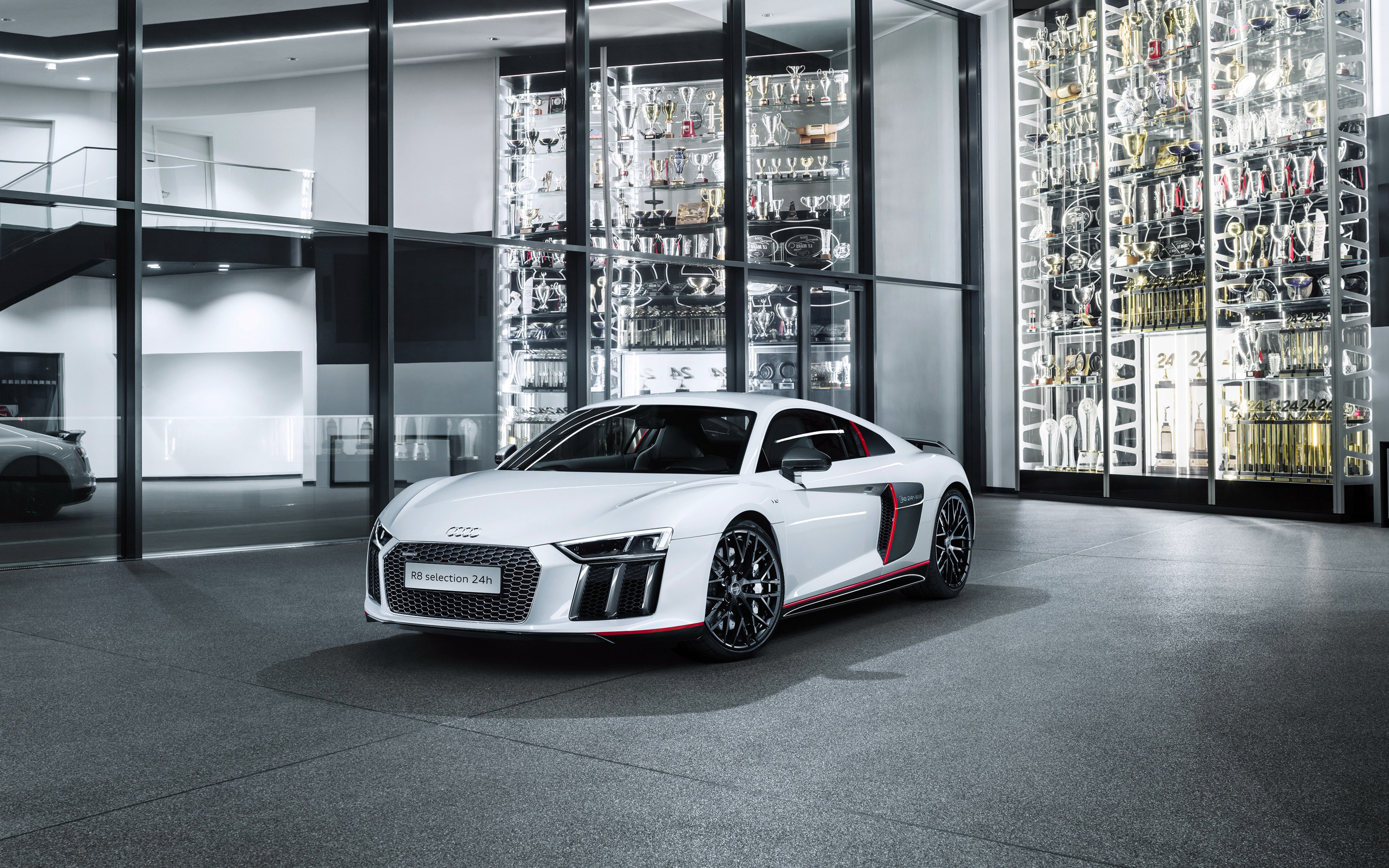 2017 Audi R8 Coupe V10 Plus Selection 24h Edition Wallpaper Hd Car Wallpapers Id 6556