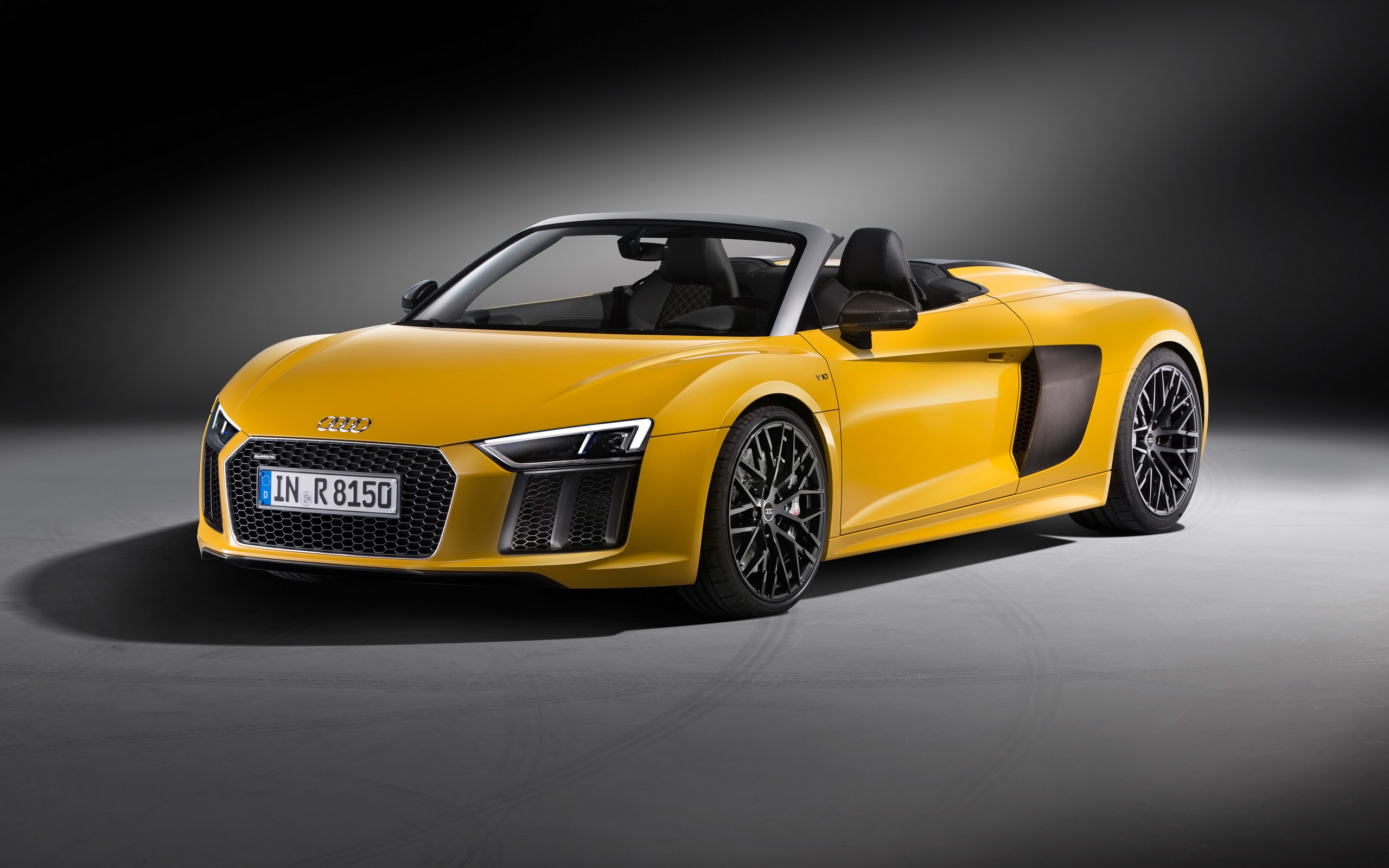 2017 Audi R8 Spyder V10 Wallpaper