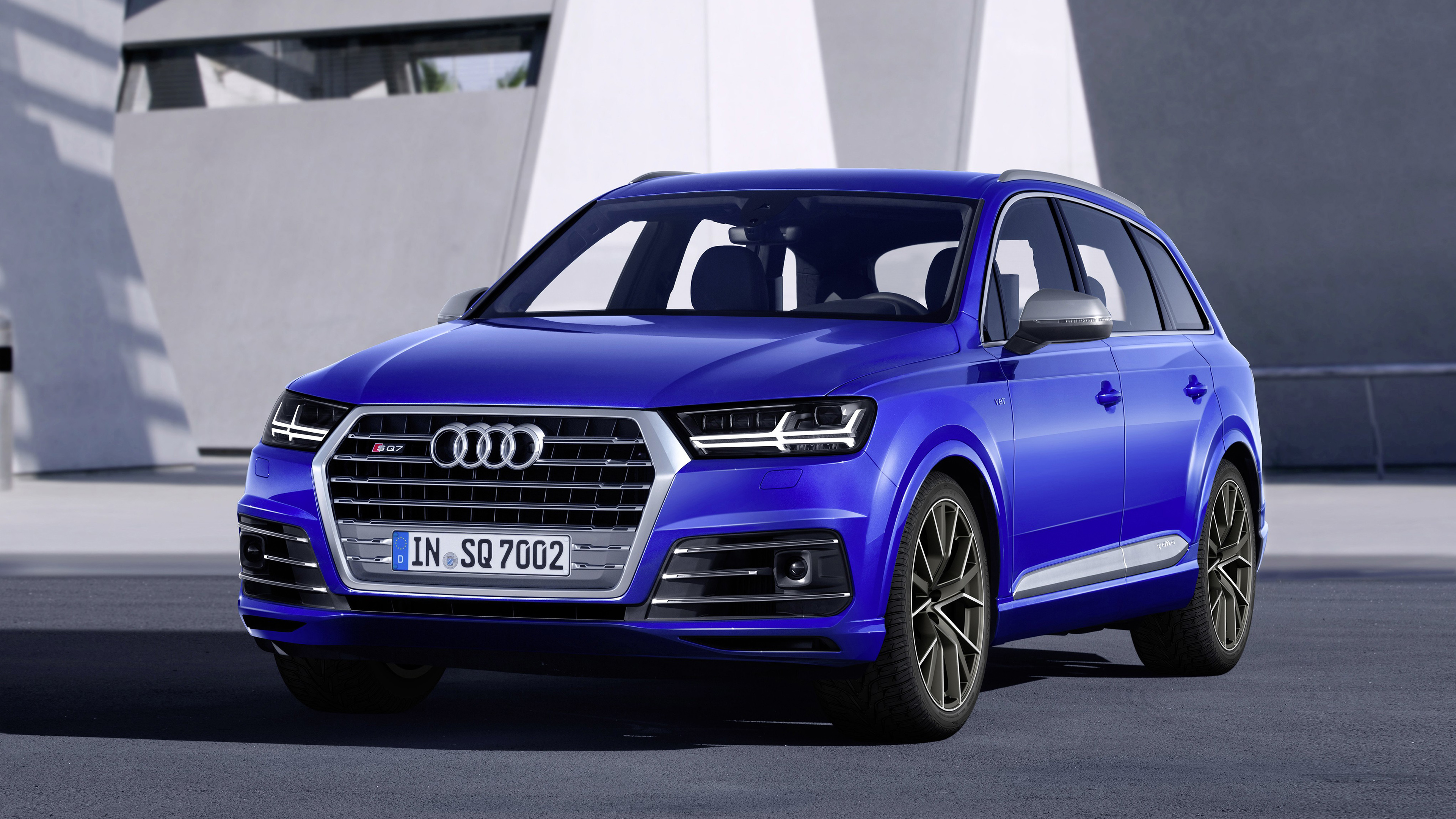 2017 Audi Sq7 Tdi Wallpaper Hd Car Wallpapers