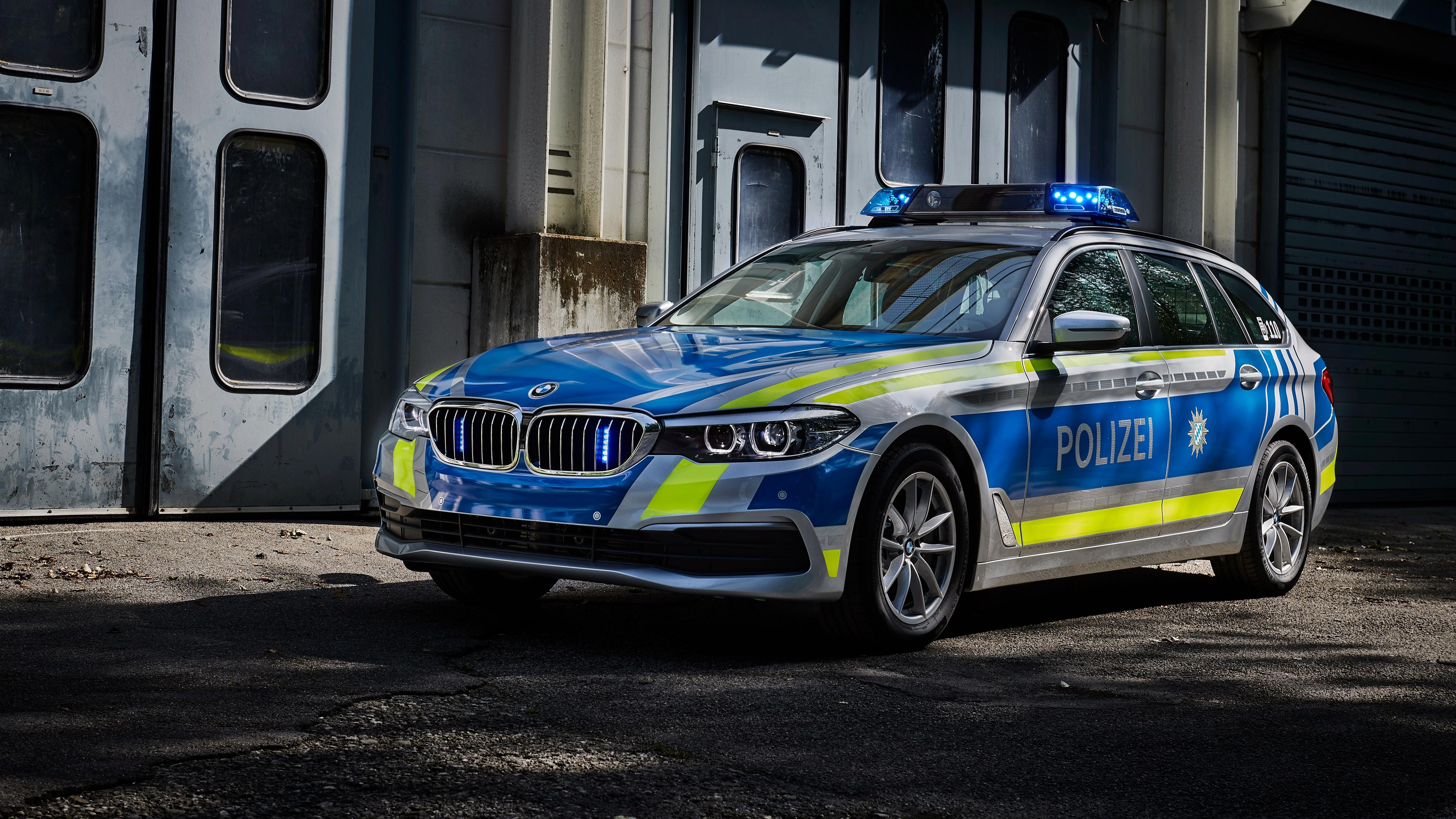 2017 BMW 530d xDrive Touring Polizei Wallpaper | HD Car ...