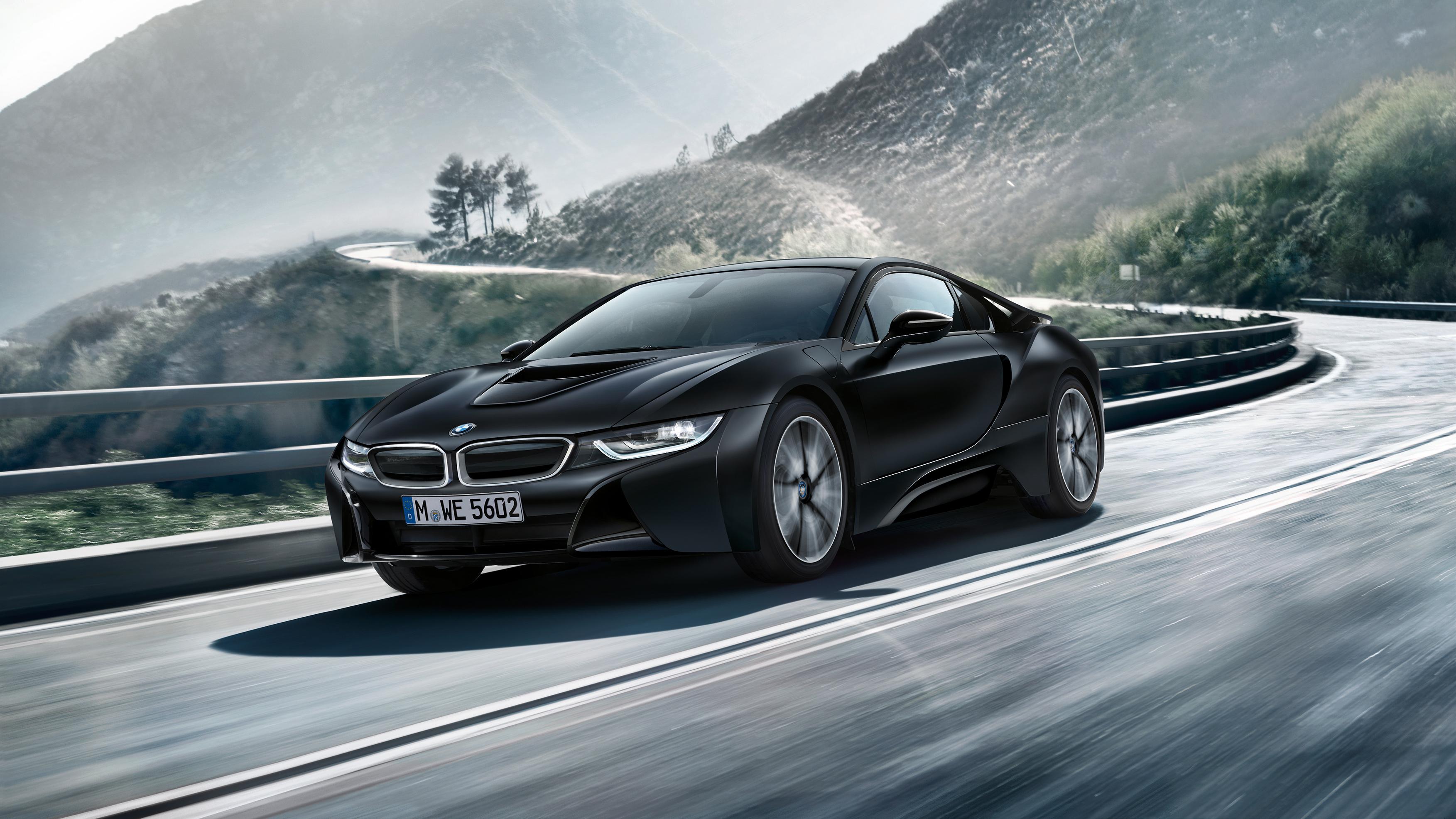 2017 BMW i8 Frozen Black Edition Wallpaper   HD Car ...